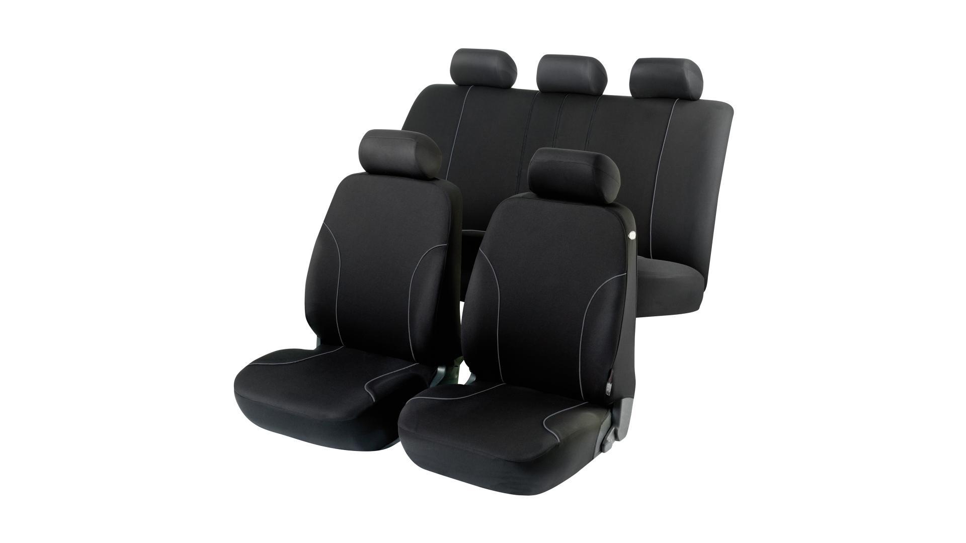 Walser Autopoťah Allessandro čierny 4 sedadlá