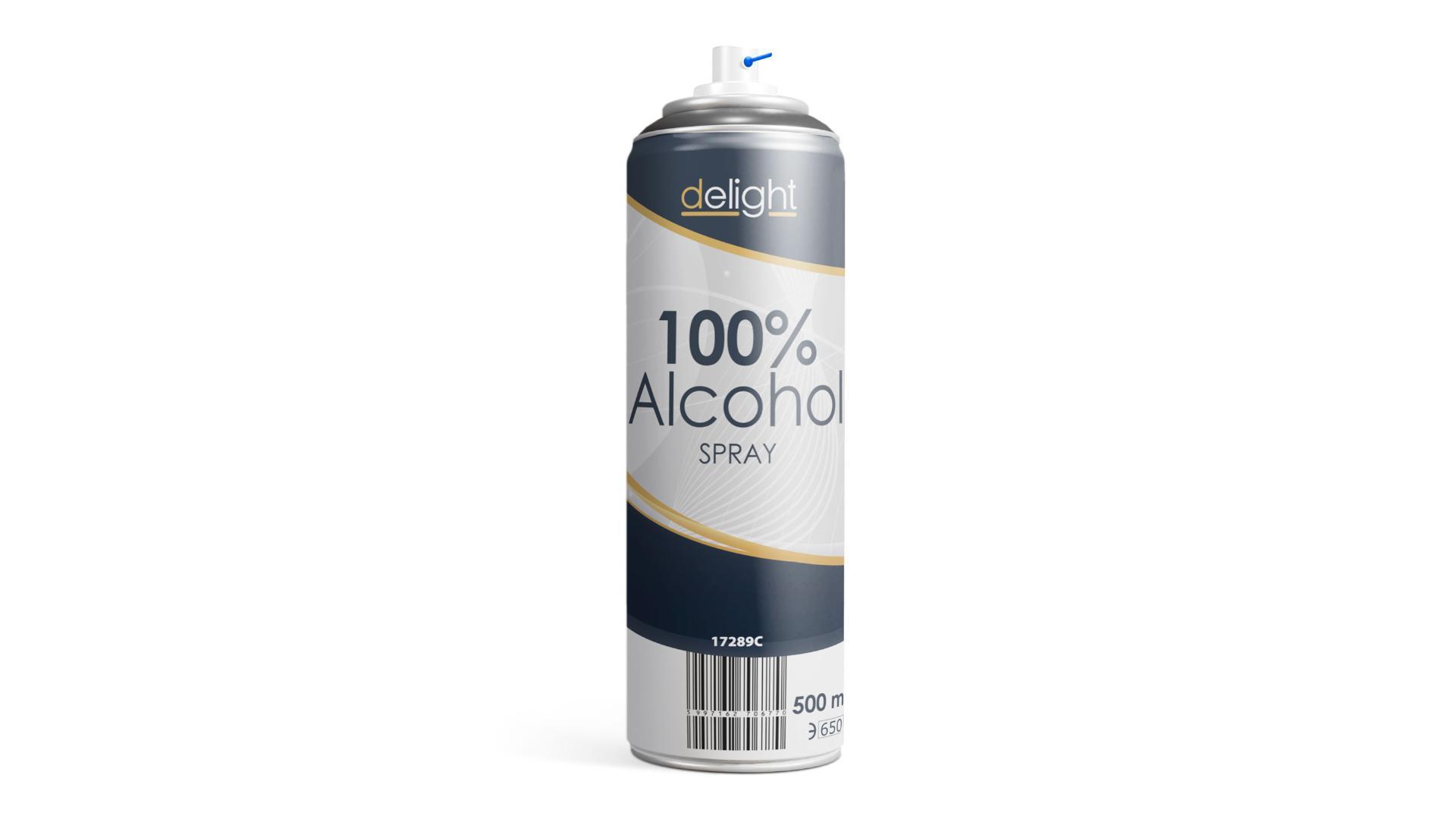 Delight 100% Dezinfekčný Alkohol sprej 500ml