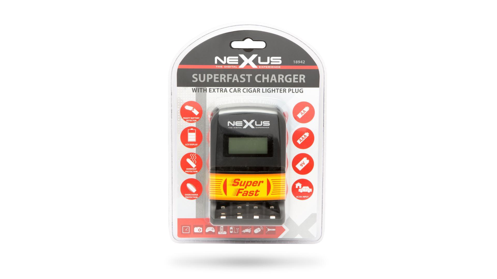 NEXUS Nabíjačka batérií