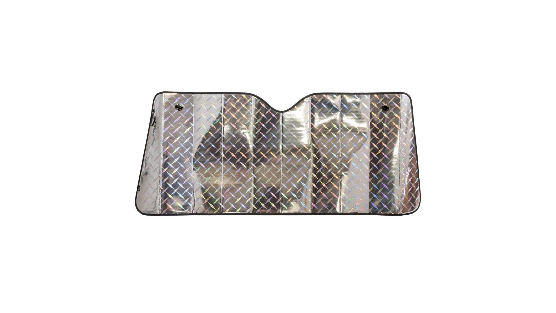 Walser slnečná clona čelného skla Laserový dizajn 130x60cm so vzduchovými komorami