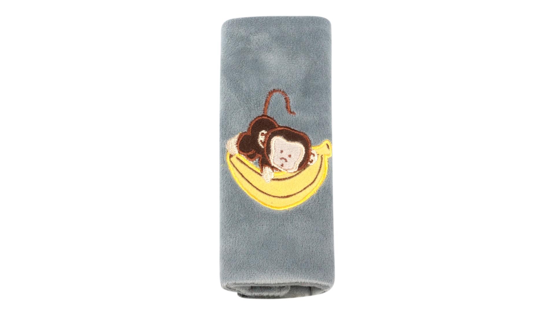 Walser Mini poťah bezpečnostného pásu Monkey sivý (od 3 rokov)