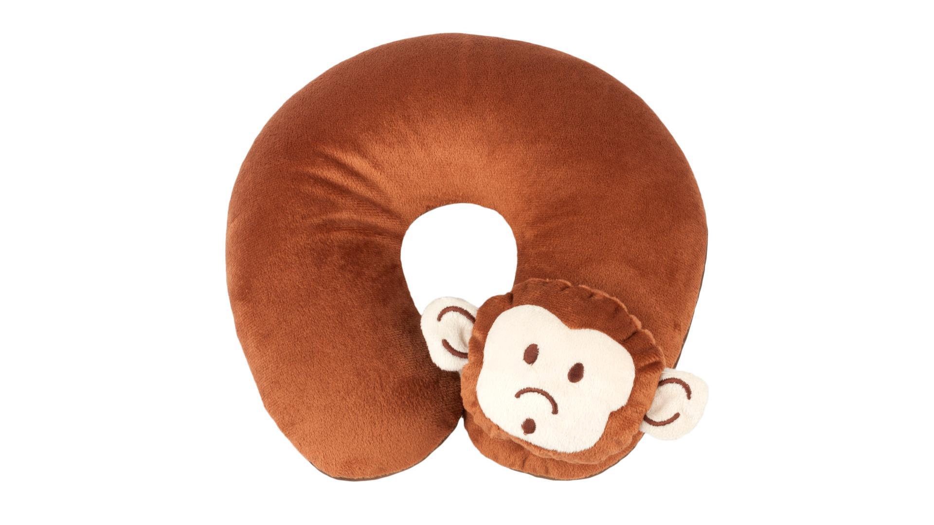 Walser vankúšový golier Monkey hnedý (od 5 rokov)