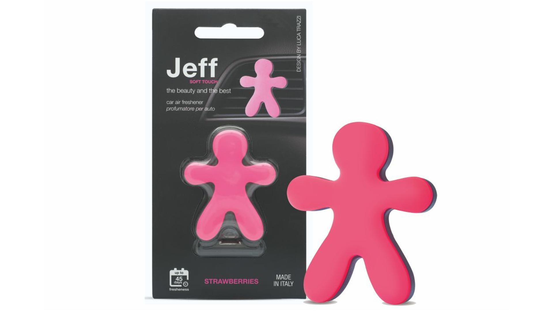 JEFF osviežovač vzduchu ružový soft - Strawberries