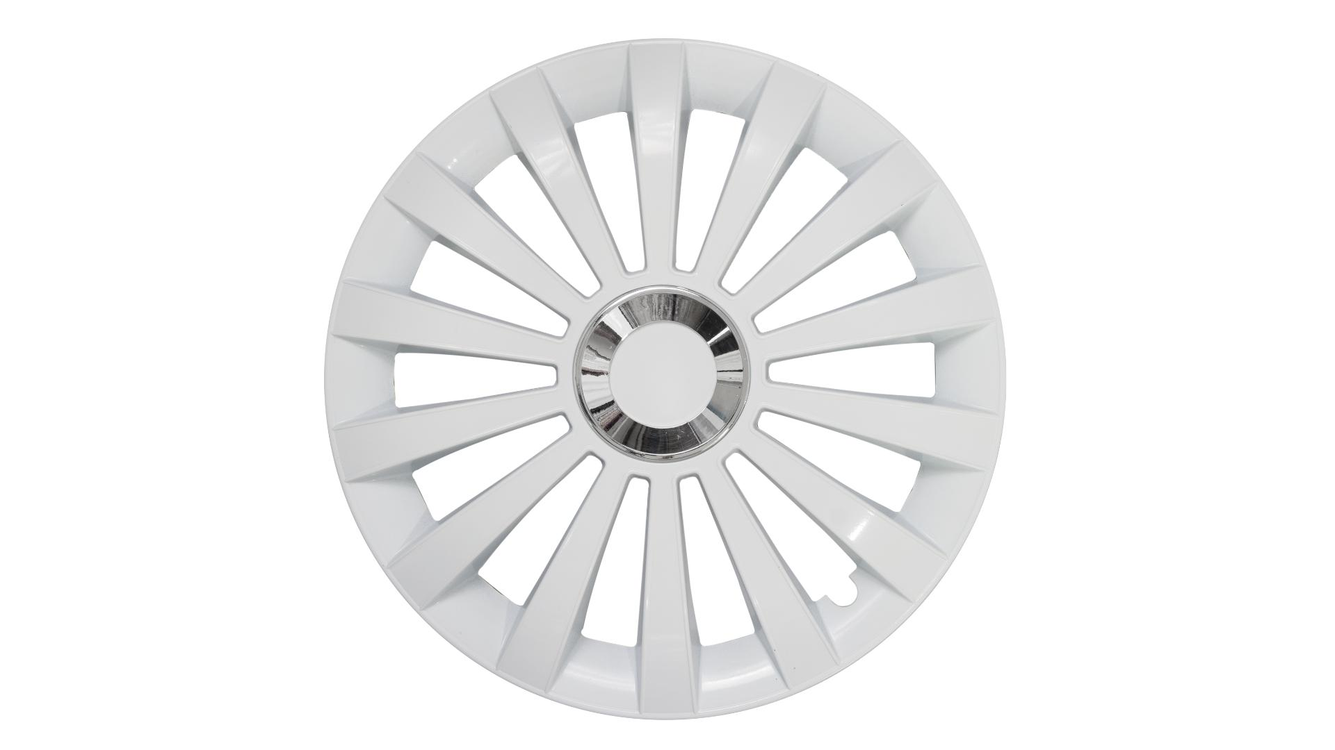 "Jestic 16"" MERIDIAN RING WHITE set 4ks"