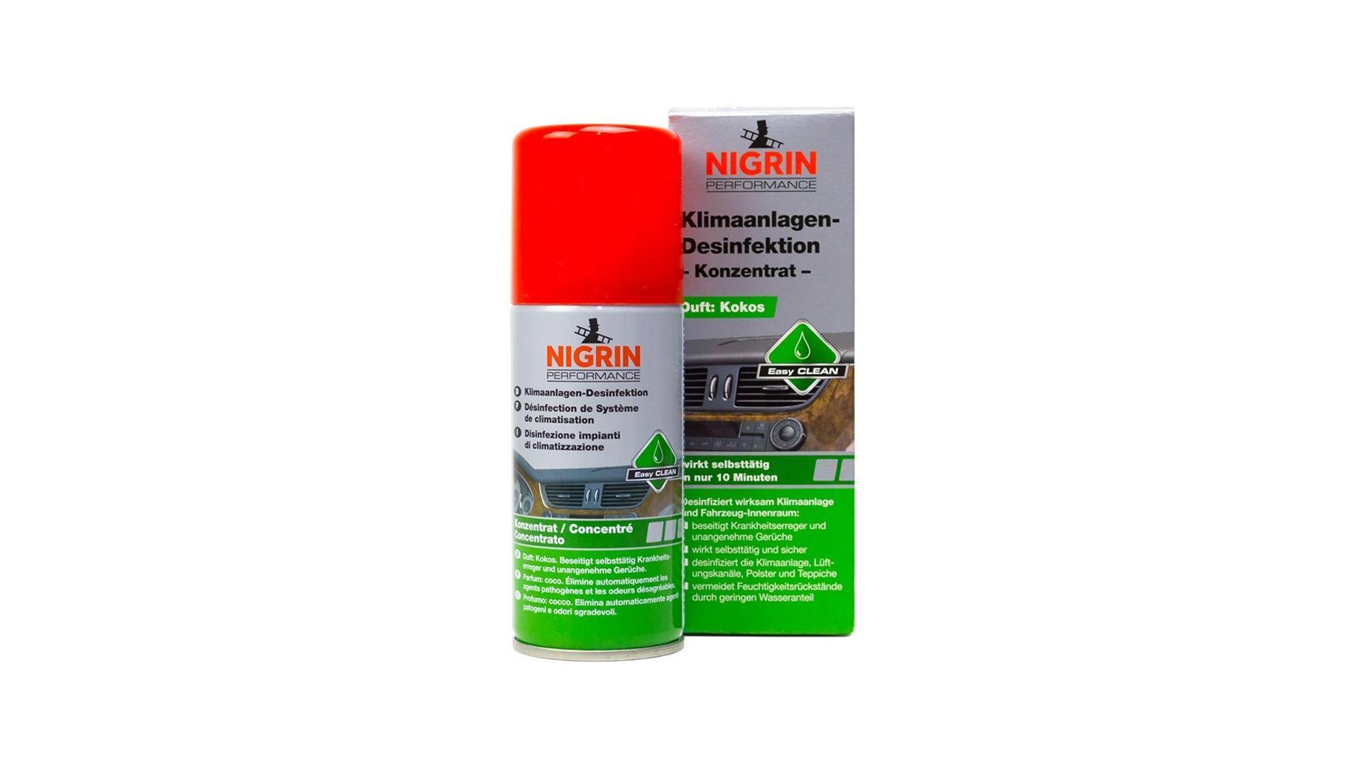 NIGRIN Dezinfekcia klimatizácie 100ml