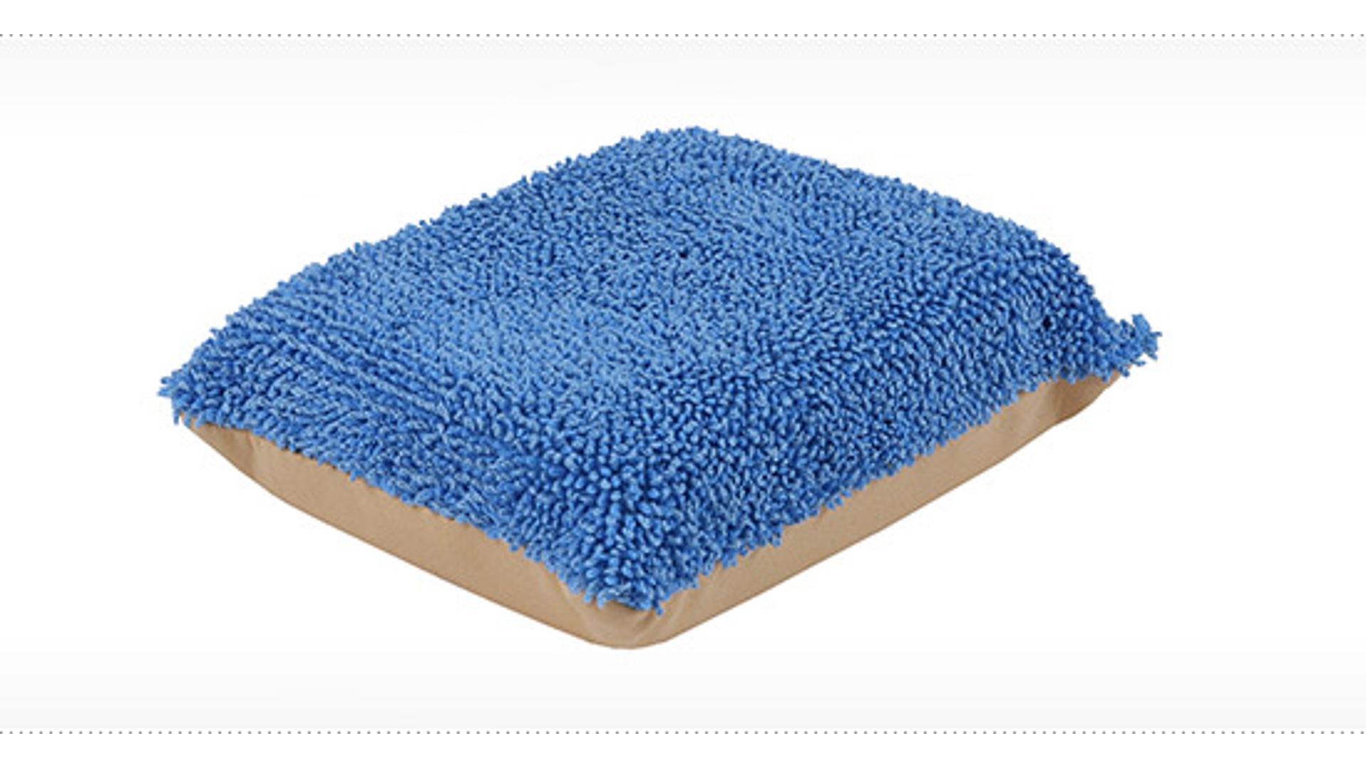 Hubka na leštenie povrchov mikrofiber 15x10x5,5cm