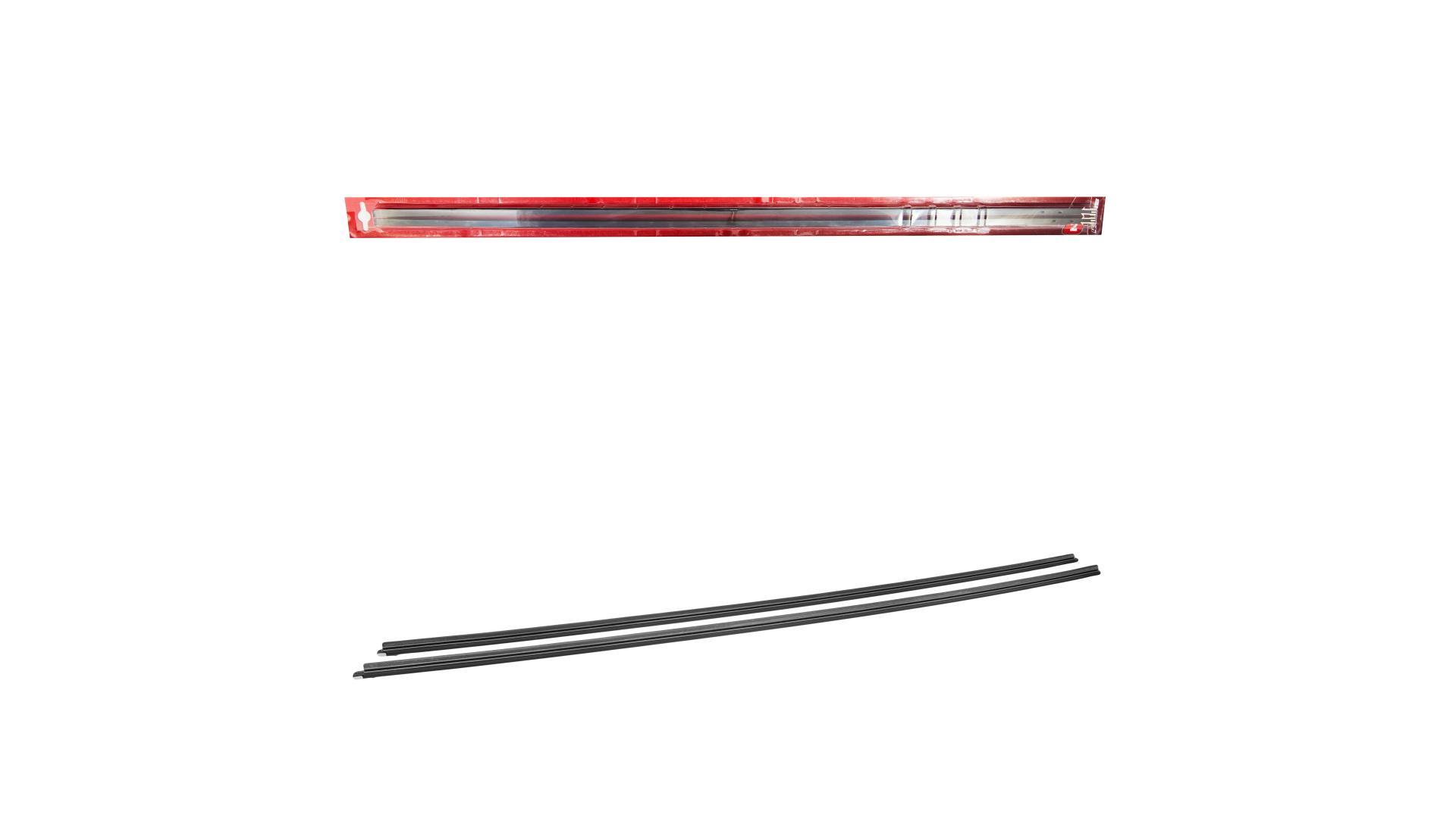 4CARS gumička stierača s lištou 710 mm, 2 ks
