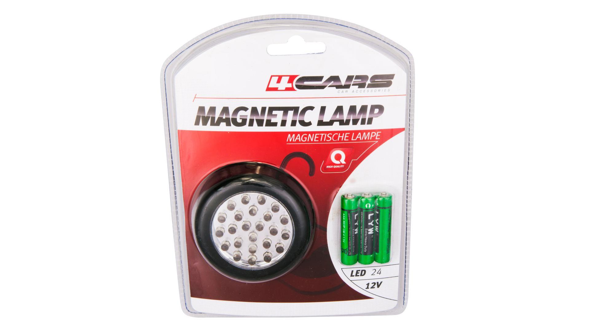 4CARS PRACOVNÁ LAMPA 24 LED PUK