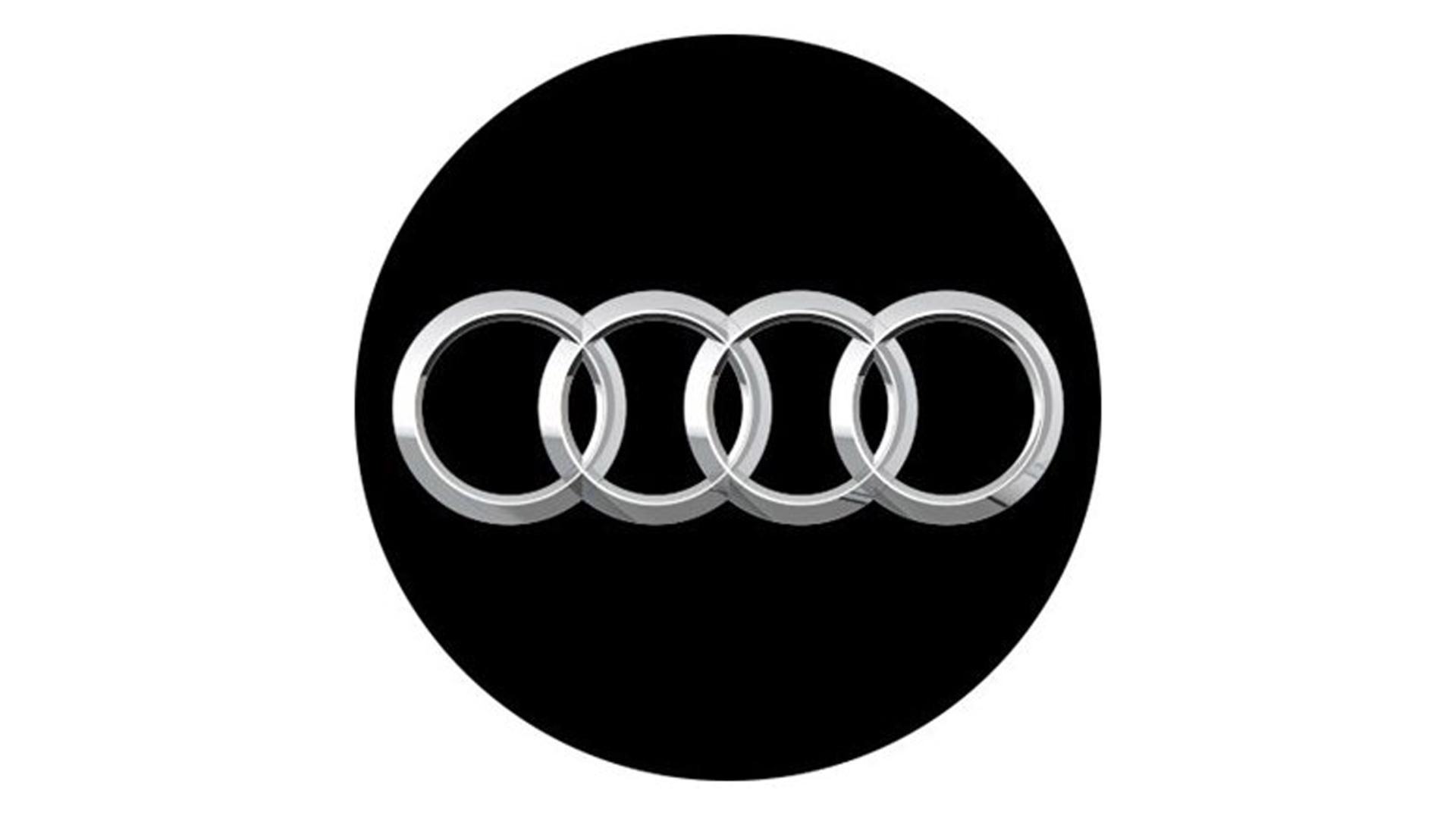 4CARS 3D CAR LOGO AUDI