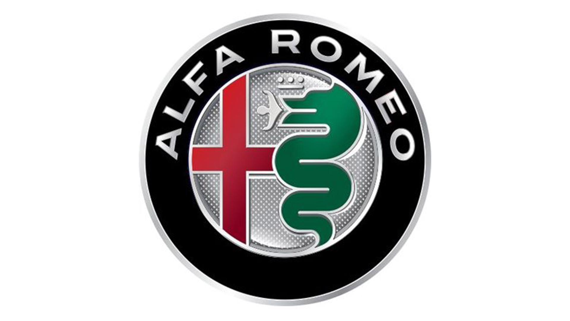 4CARS 3D CAR LOGO ALFA ROMEO