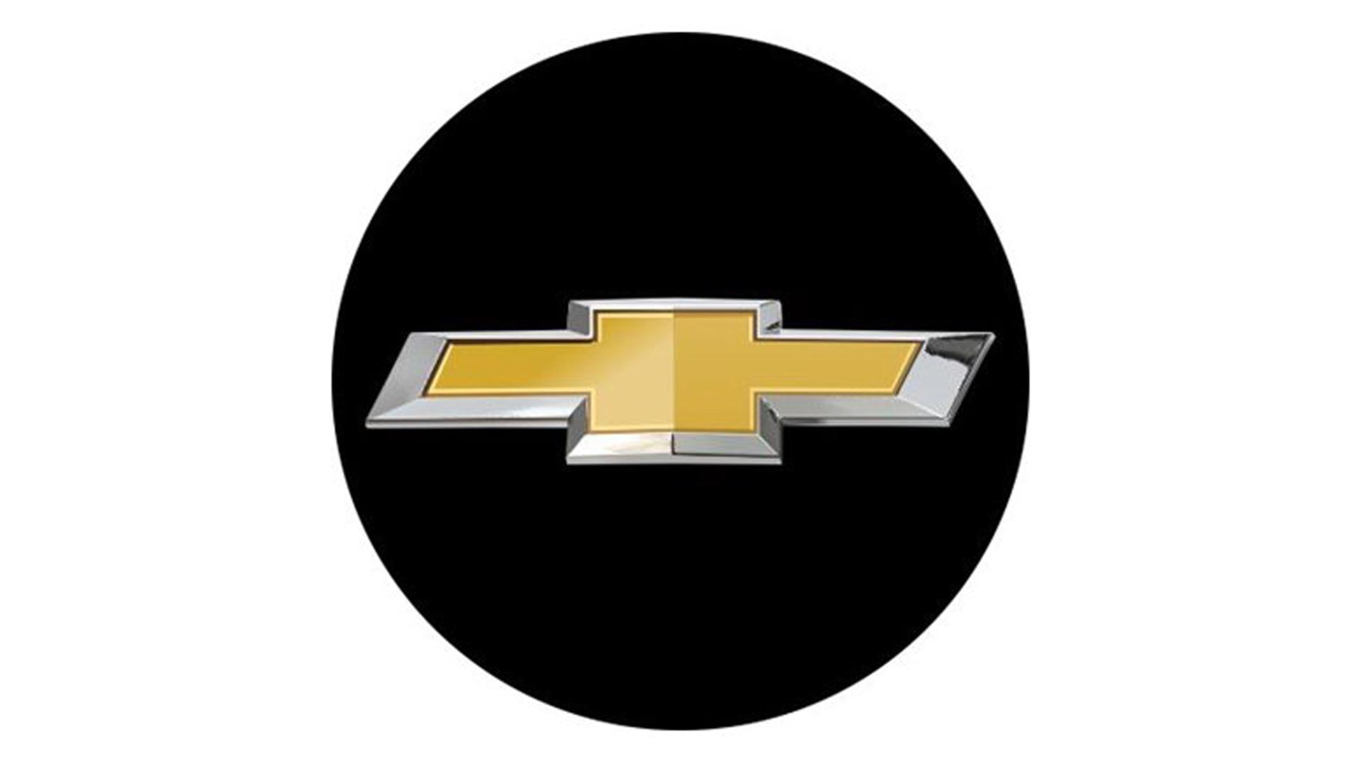 3D CAR LOGO CHEVROLET