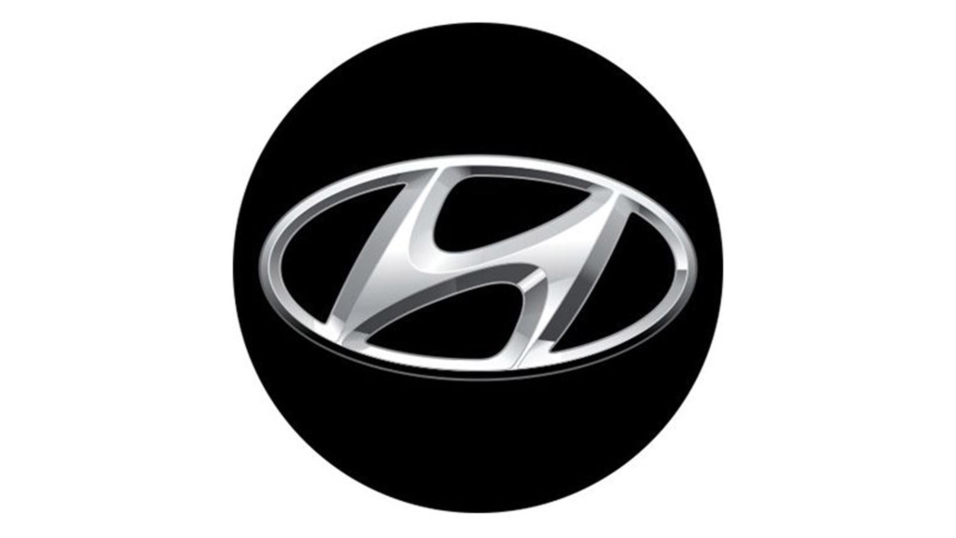 4CARS 3D CAR LOGO HYUNDAI