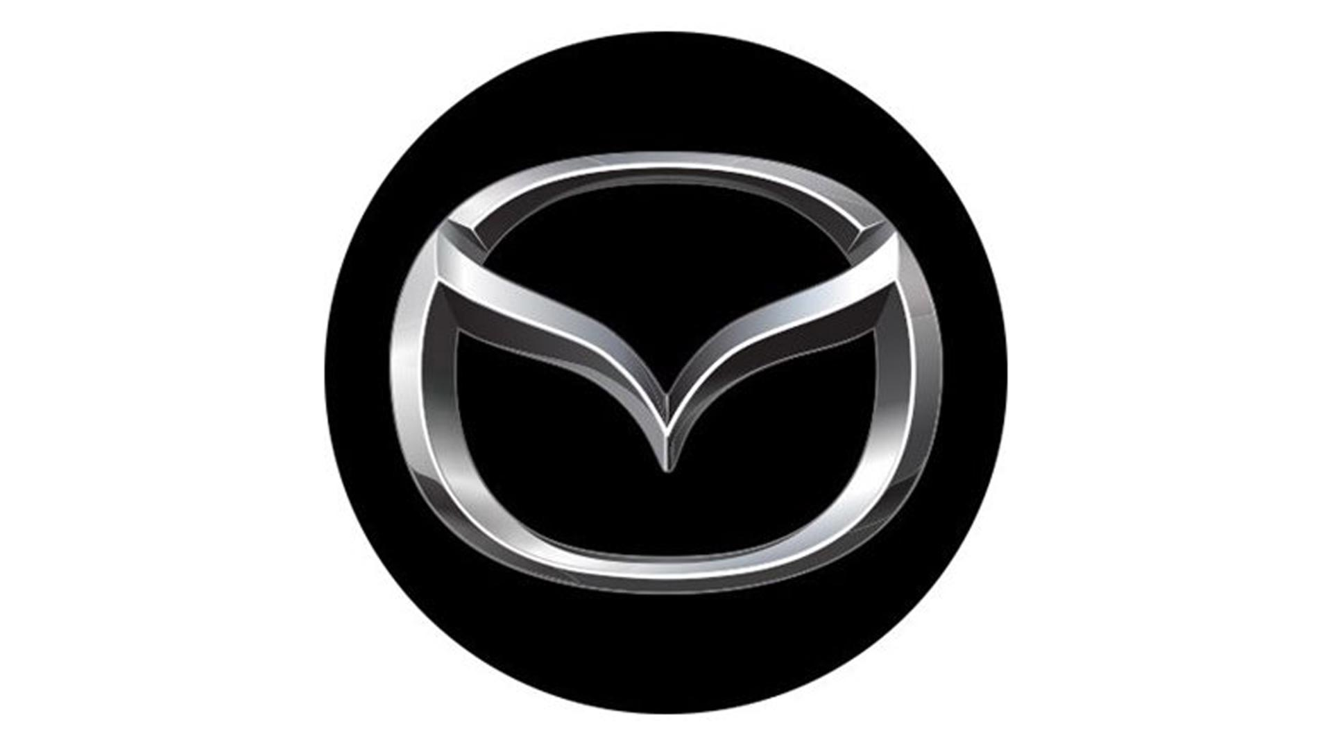 4CARS 3D CAR LOGO MAZDA