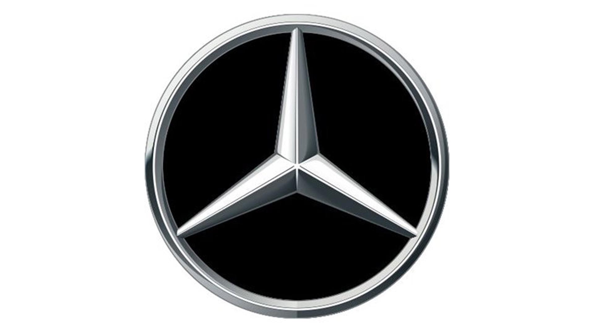 4CARS 3D CAR LOGO MERCEDES