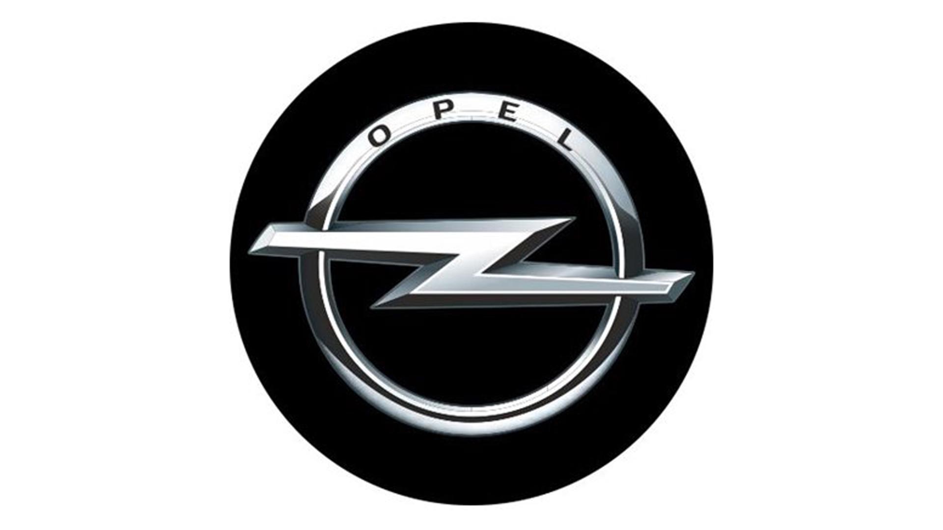 4CARS 3D CAR LOGO OPEL