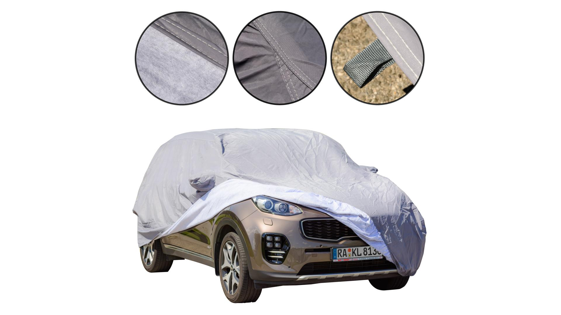 4CARS SUV car cover XL