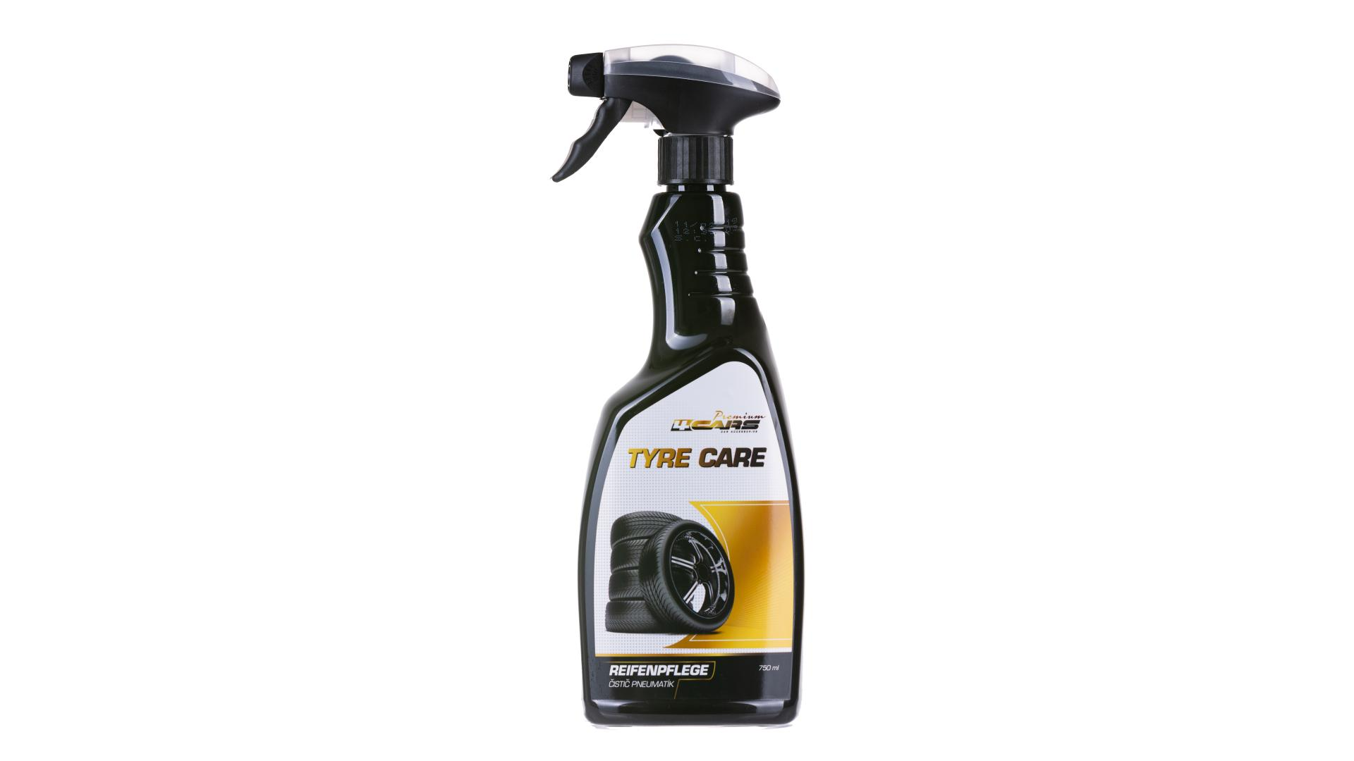 4CARS Čistič pneumatik - 750ml/pumpička