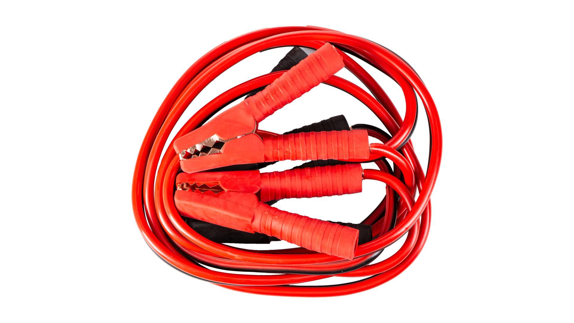 4 CARS Štartovací kábel - izolované kliešte 400AMP, 5.0MM?, 2,5M