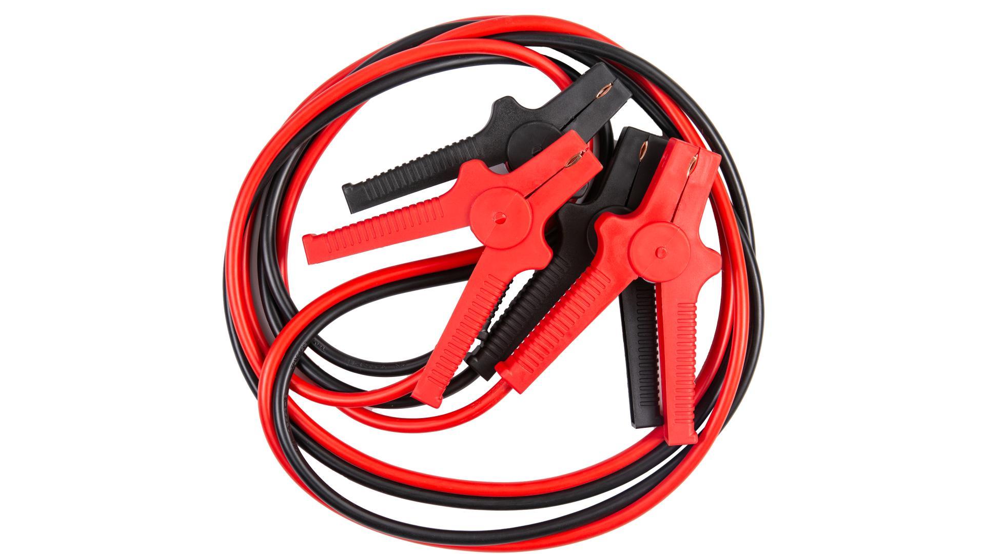 4 CARS Premium Štartovací kábel - DIN 72553 izolované kliešte, hrúbka 16.0MM?, 3metre