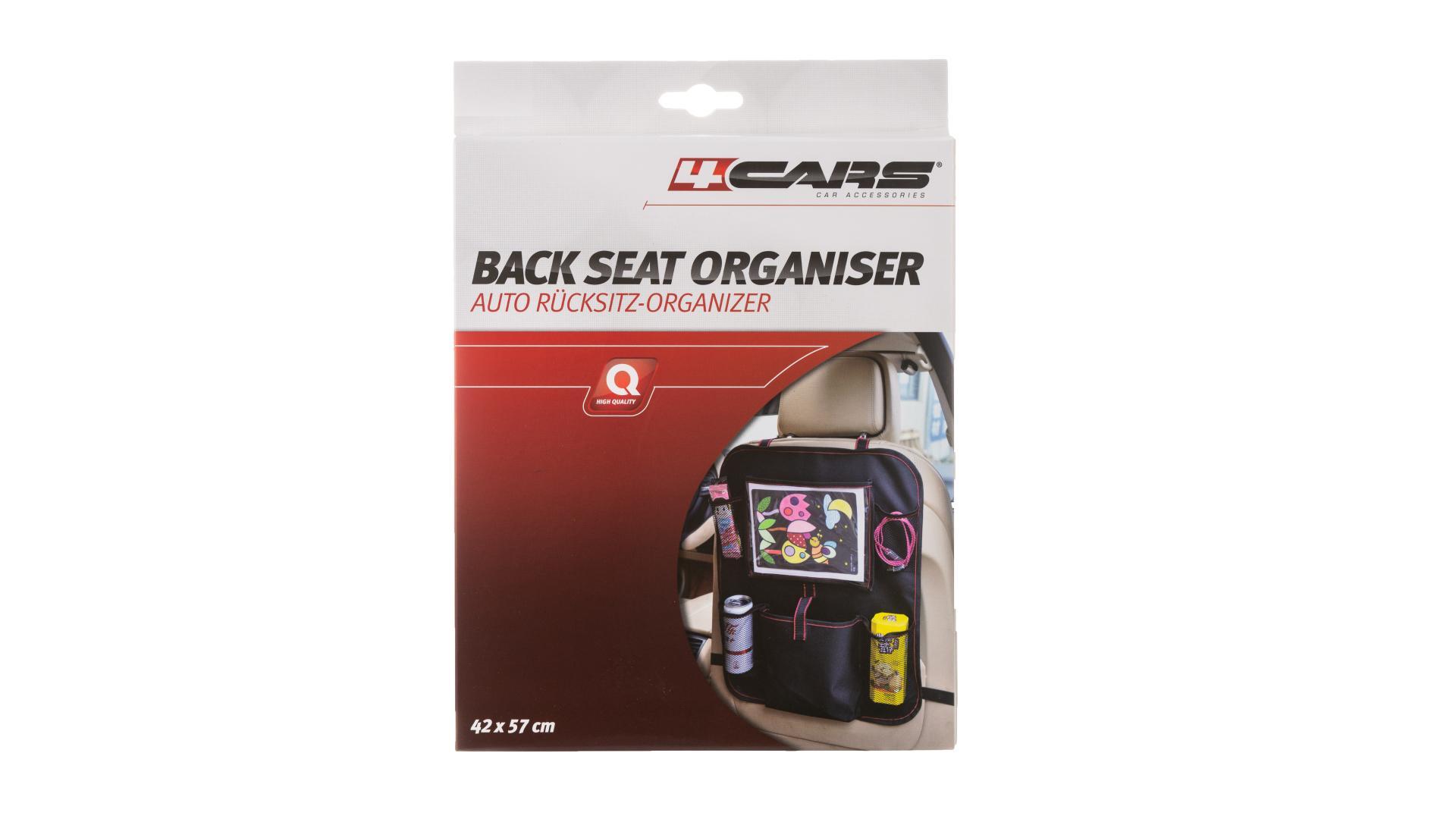 4CARS Závesný organizér zadného sedadla 42x57cm