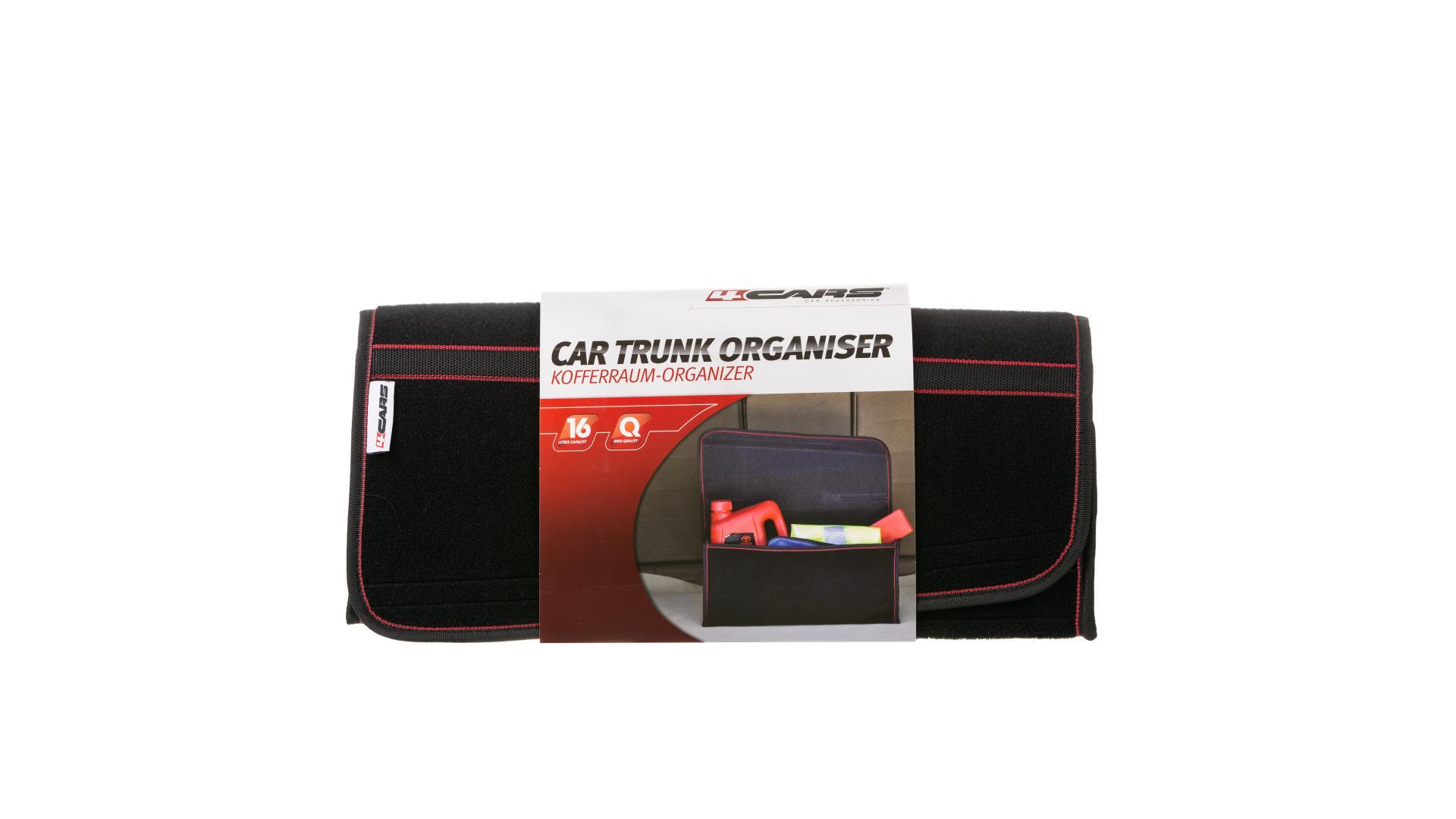 4CARS Organizér batožinového priestoru 50x22x15 cm