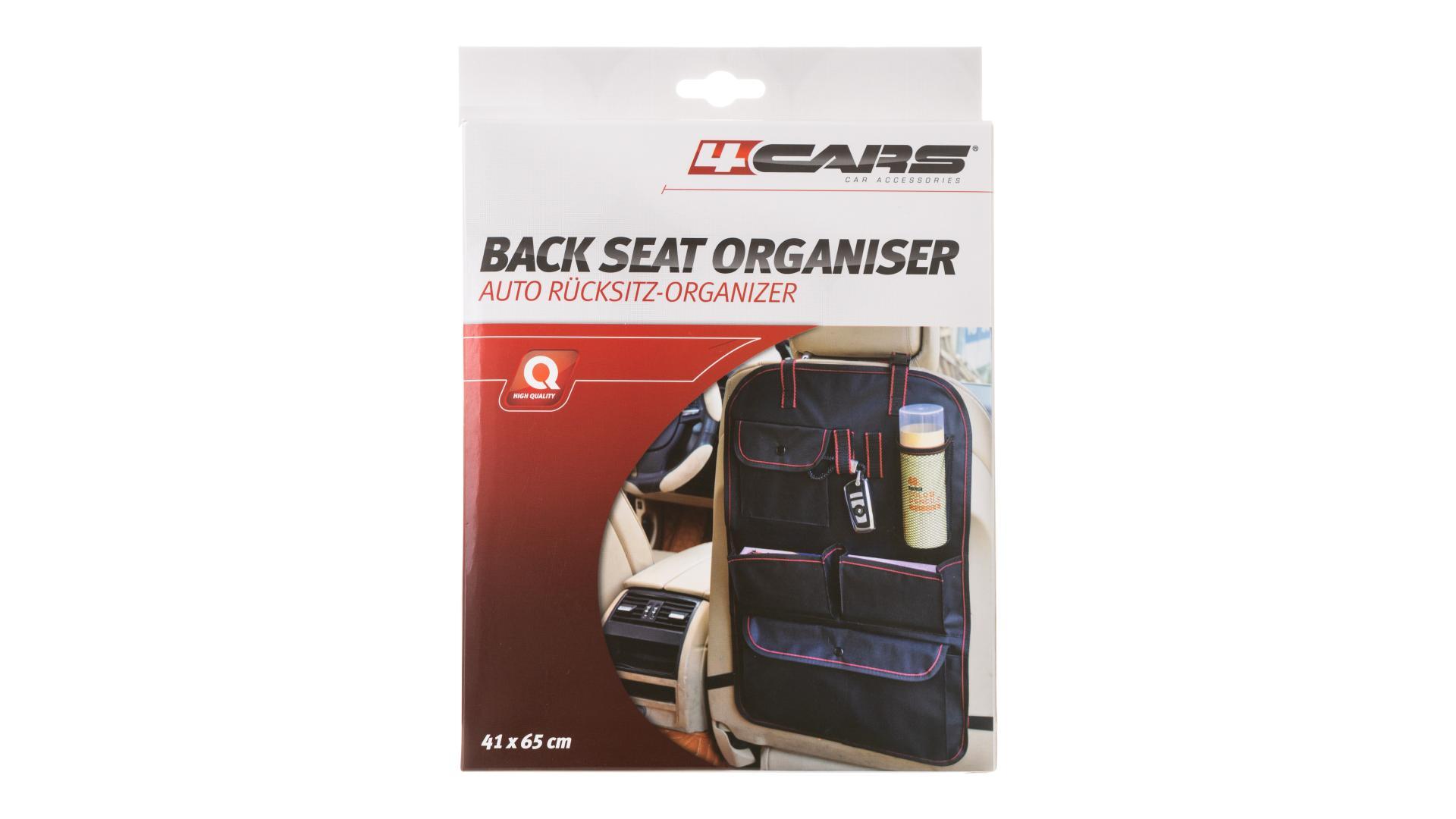 4CARS Závesný organizér zadného sedadla 41x65 cm