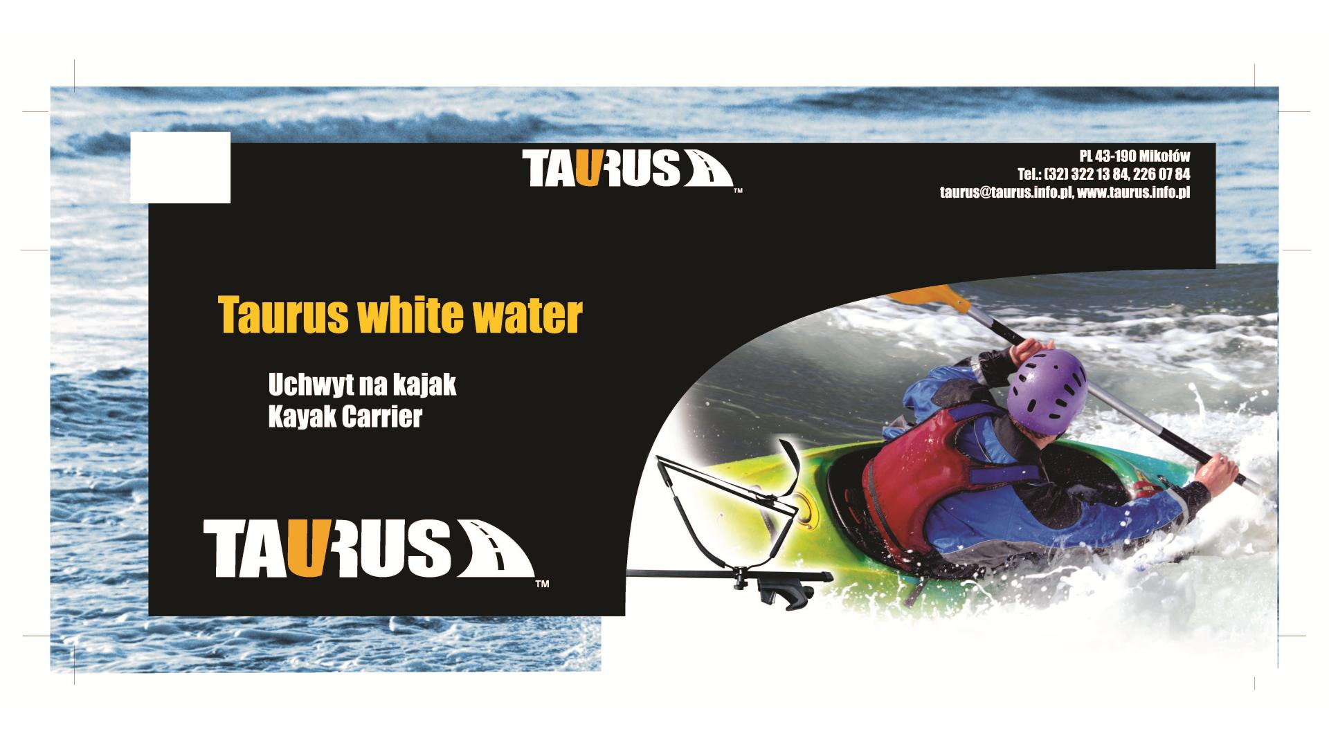 Taurus White Water - nosič na kajak