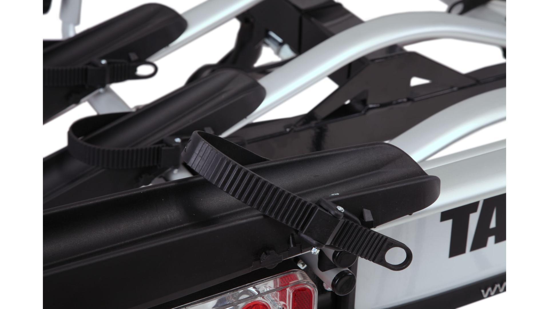 Taurus Alfa Plus - nosič bicyklov na ťažné zariadenie (4 bicykle), 7 pin
