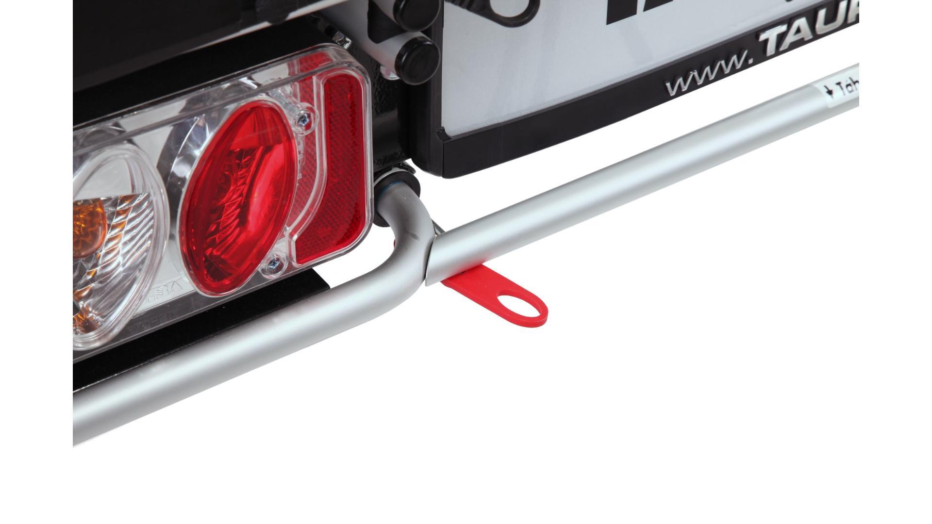 Taurus Alfa Plus - nosič bicyklov na ťažné zariadenie (4 bicykle), 13 pin