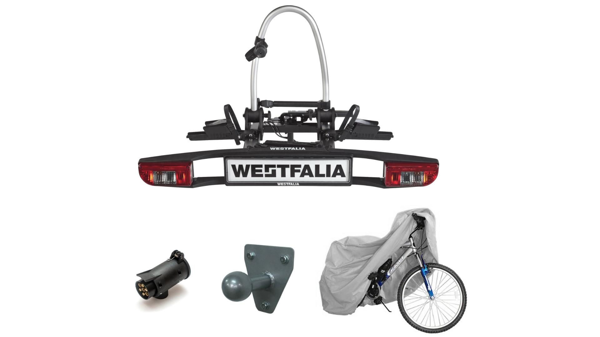 Westfalia BC 60 - nosič bicyklov na ťažné zariadenie (2 bicykle)