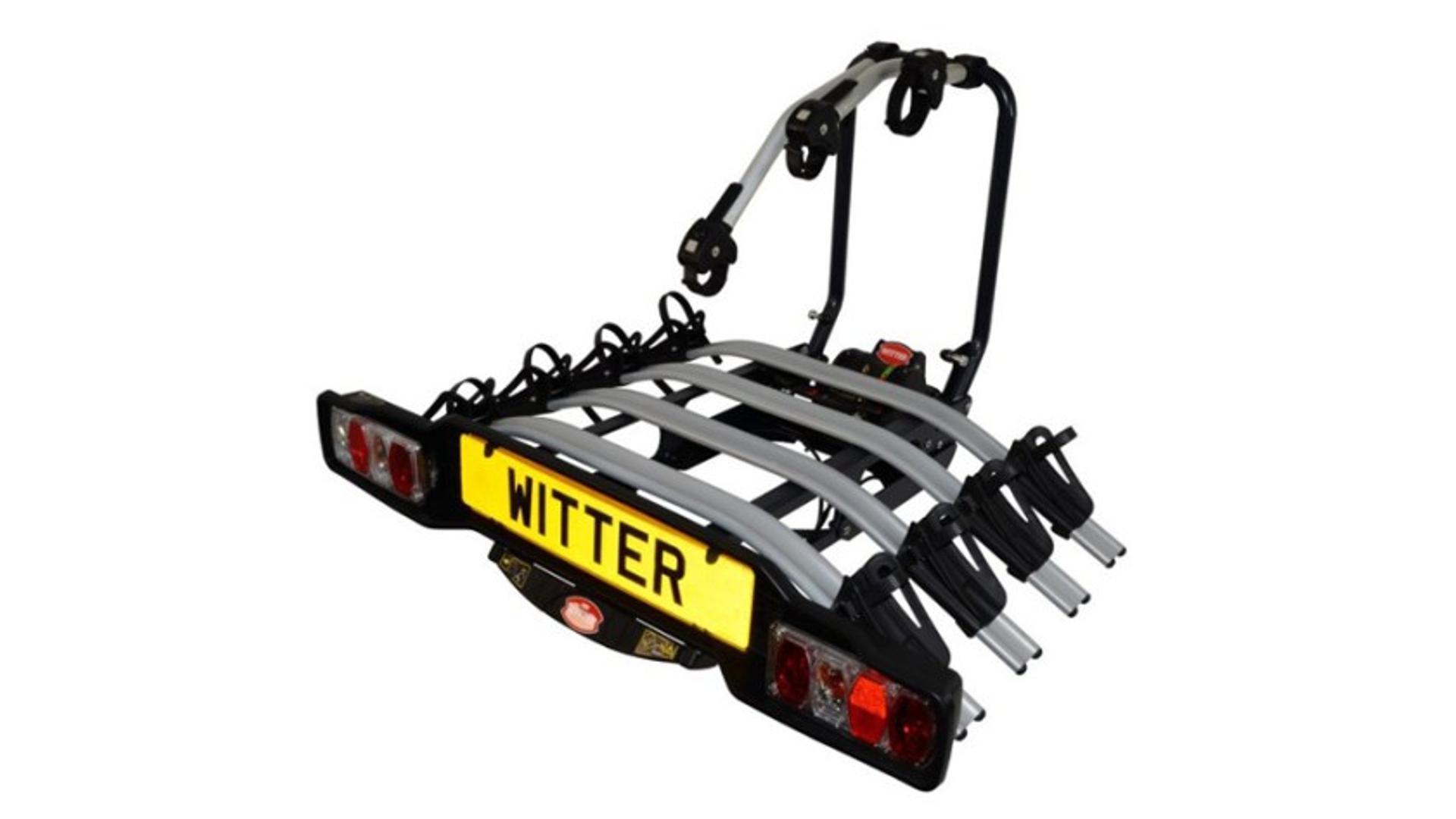 Witter ZX504  - nosič bicyklov na ťažné zariadenie (4 bicykle)