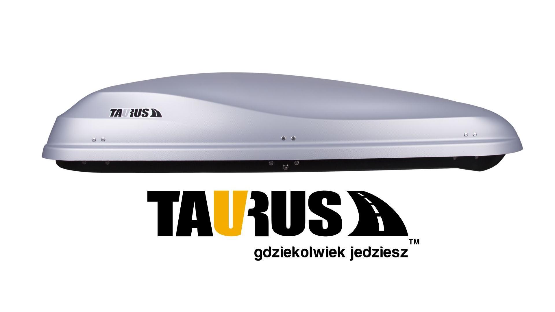Taurus strešný box Altro 500 (200x90x41) 500 l.- šedý karbónový (obojstranne otvárateľný)