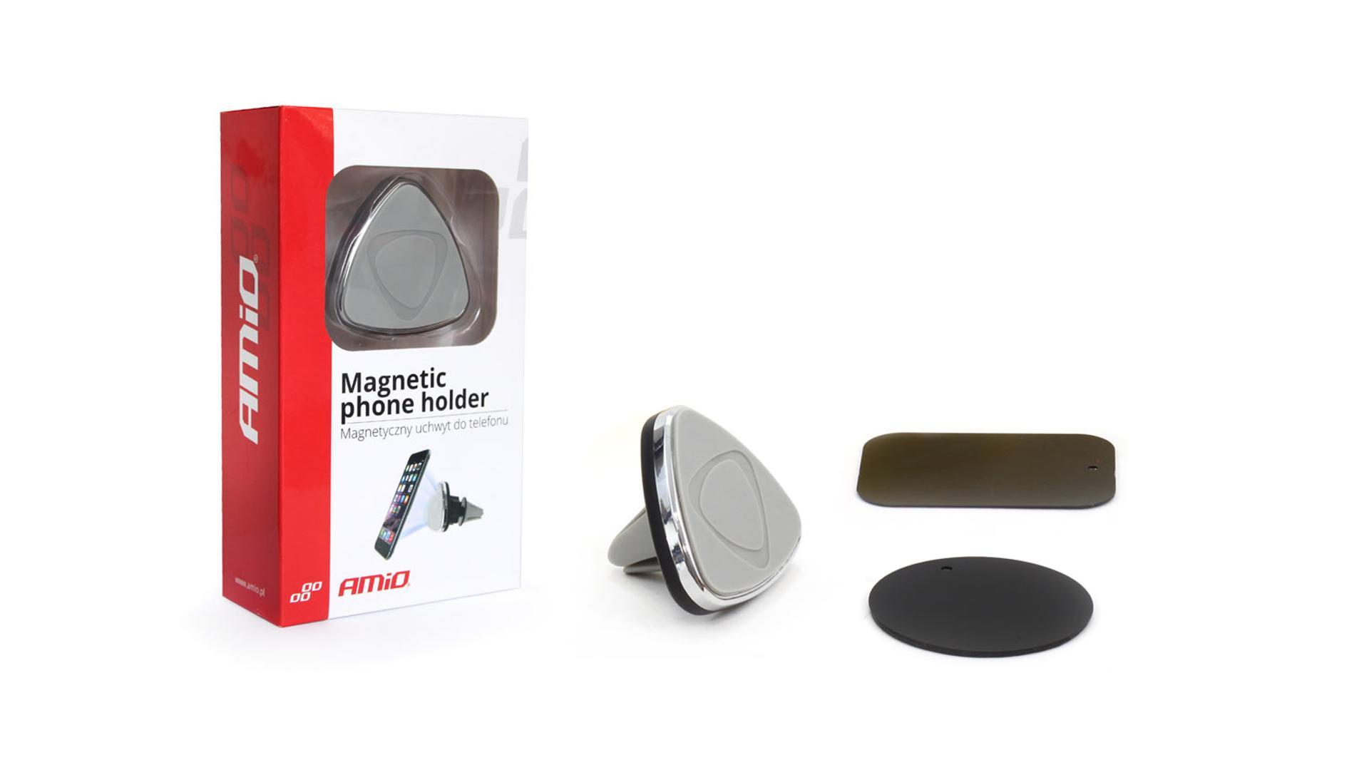 Magnetický držiak telefónu pre vetracie otvory
