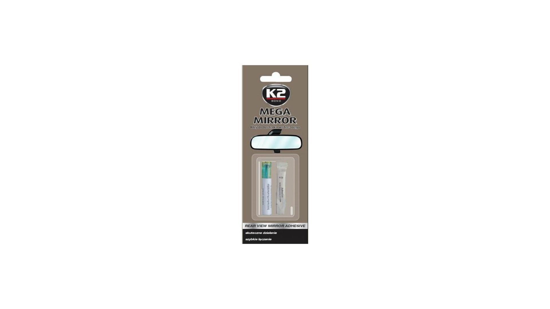 K2 MEGA MIRROR 6 ml - lepidlo na spätné zrkadlo