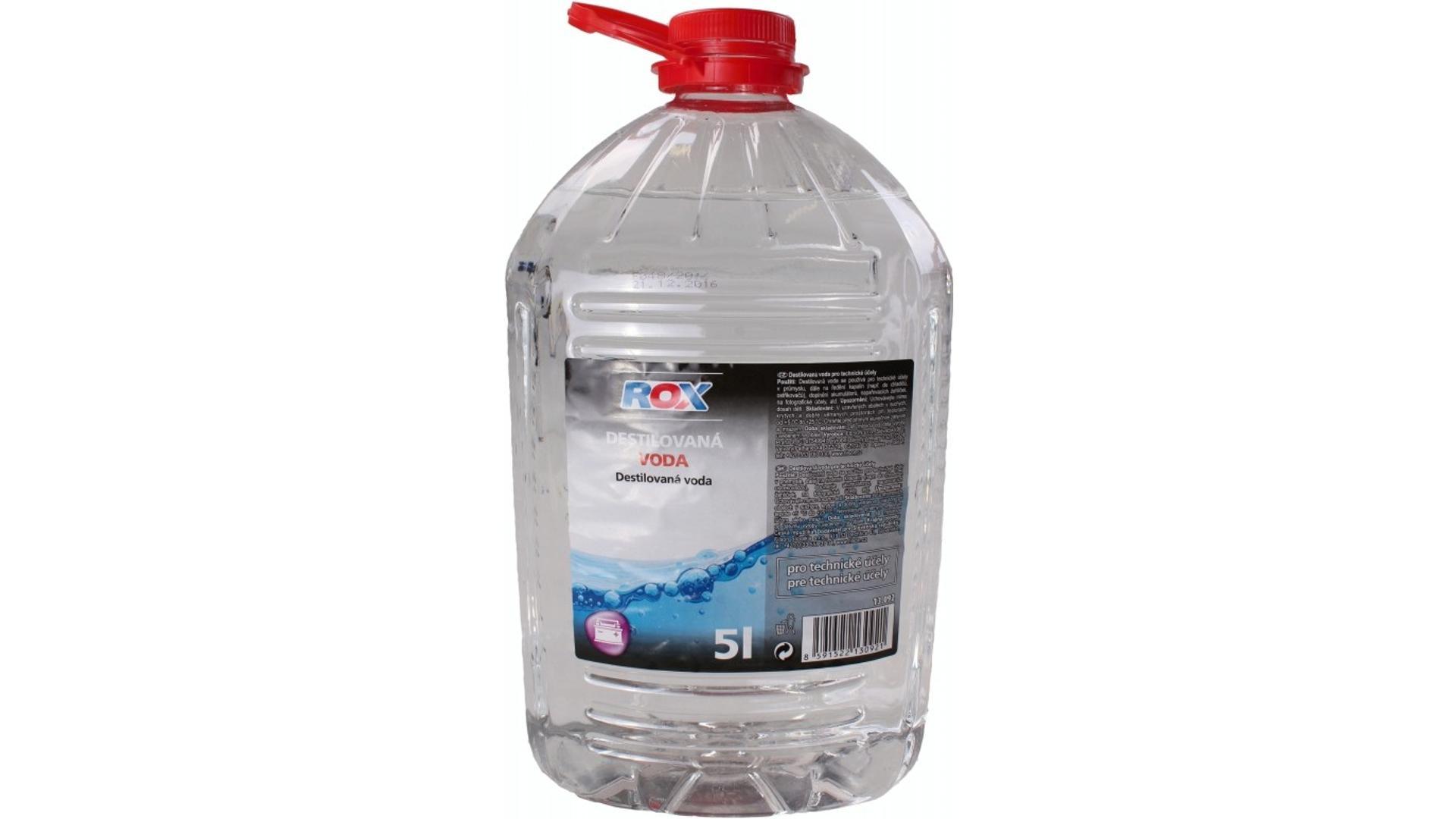 ROX DESTILOVANÁ VODA - 5L
