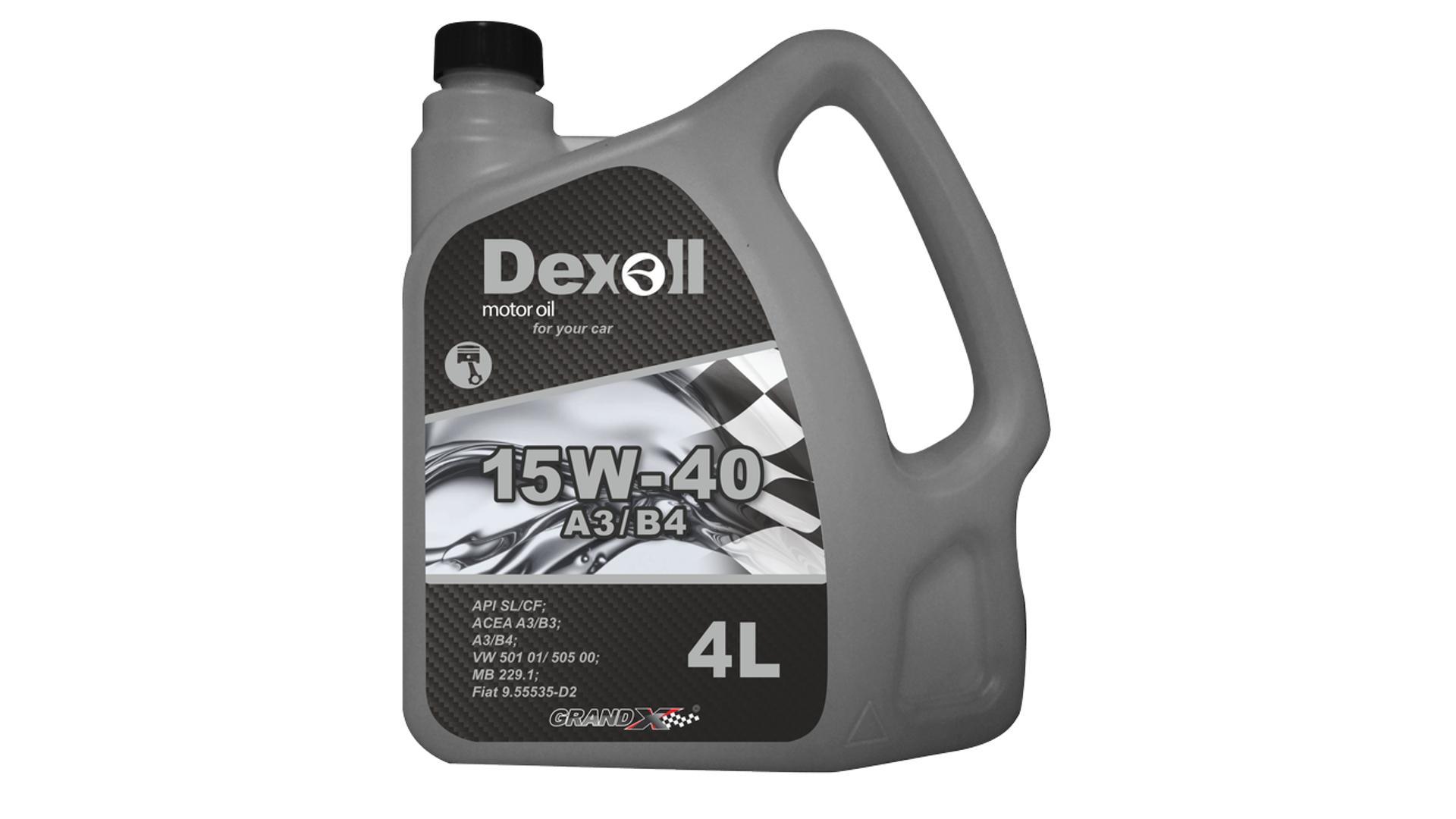 DEXOLL 15W-40 A3/B4 4L