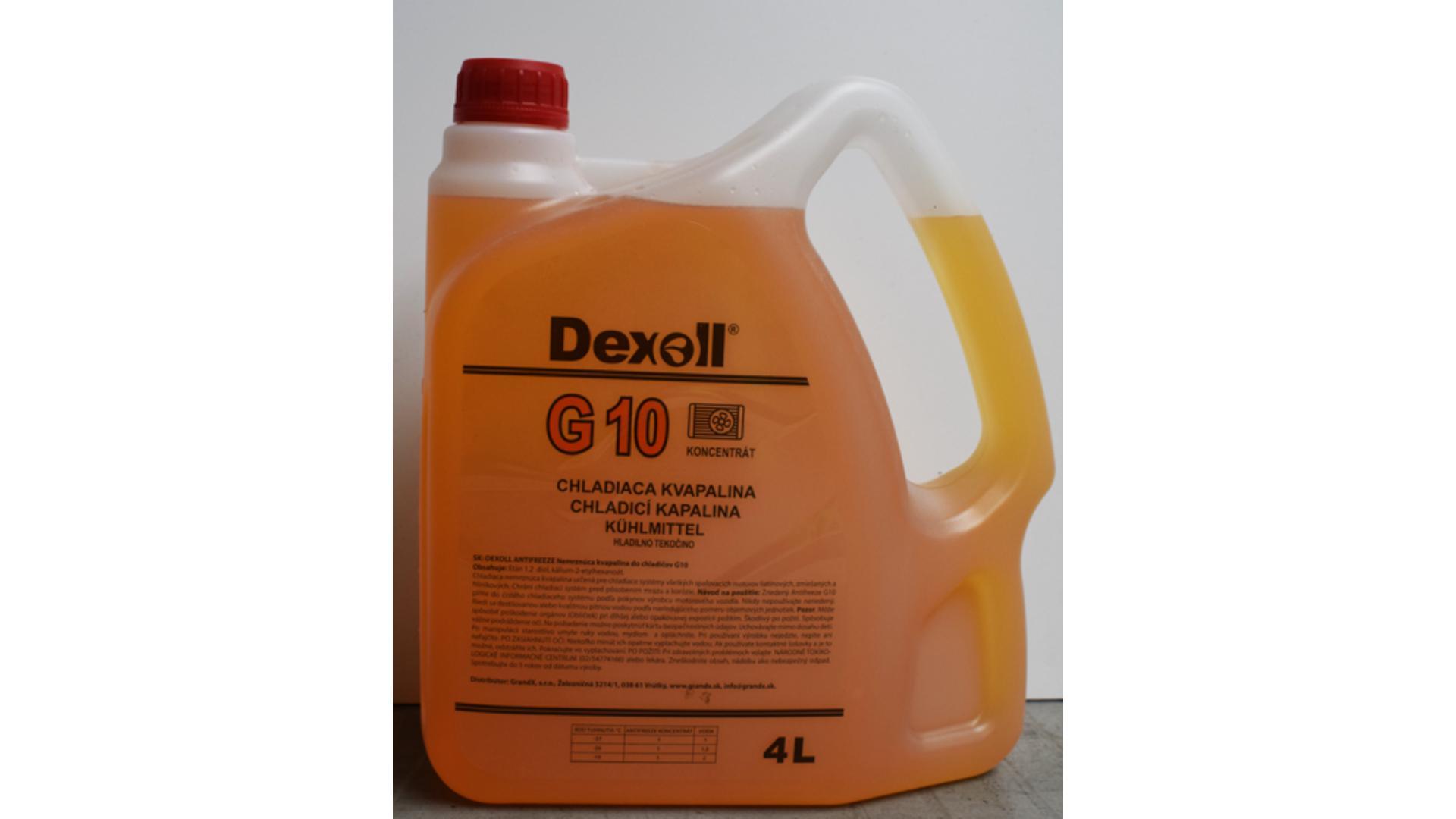 DEXOLL Nemrznúca zmes G10 4L