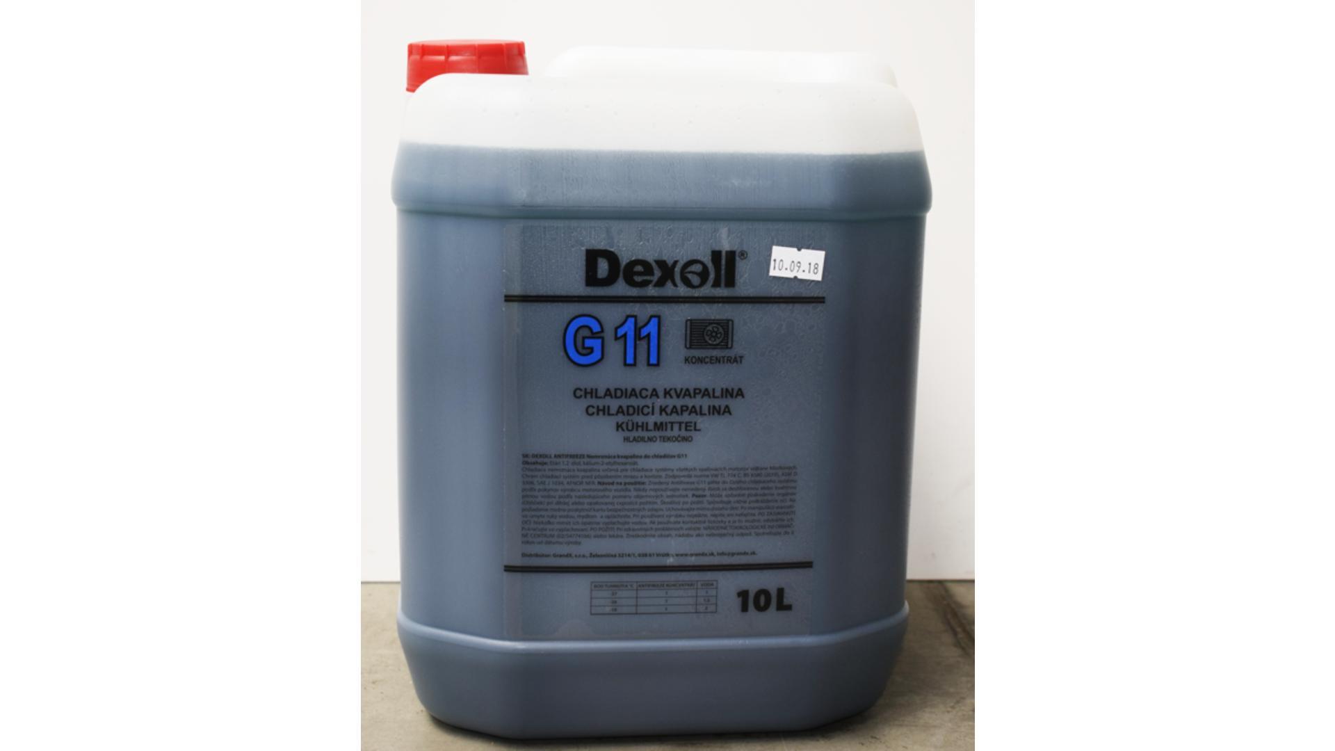DEXOLL Nemrznúca zmes G11 - modrý 10L