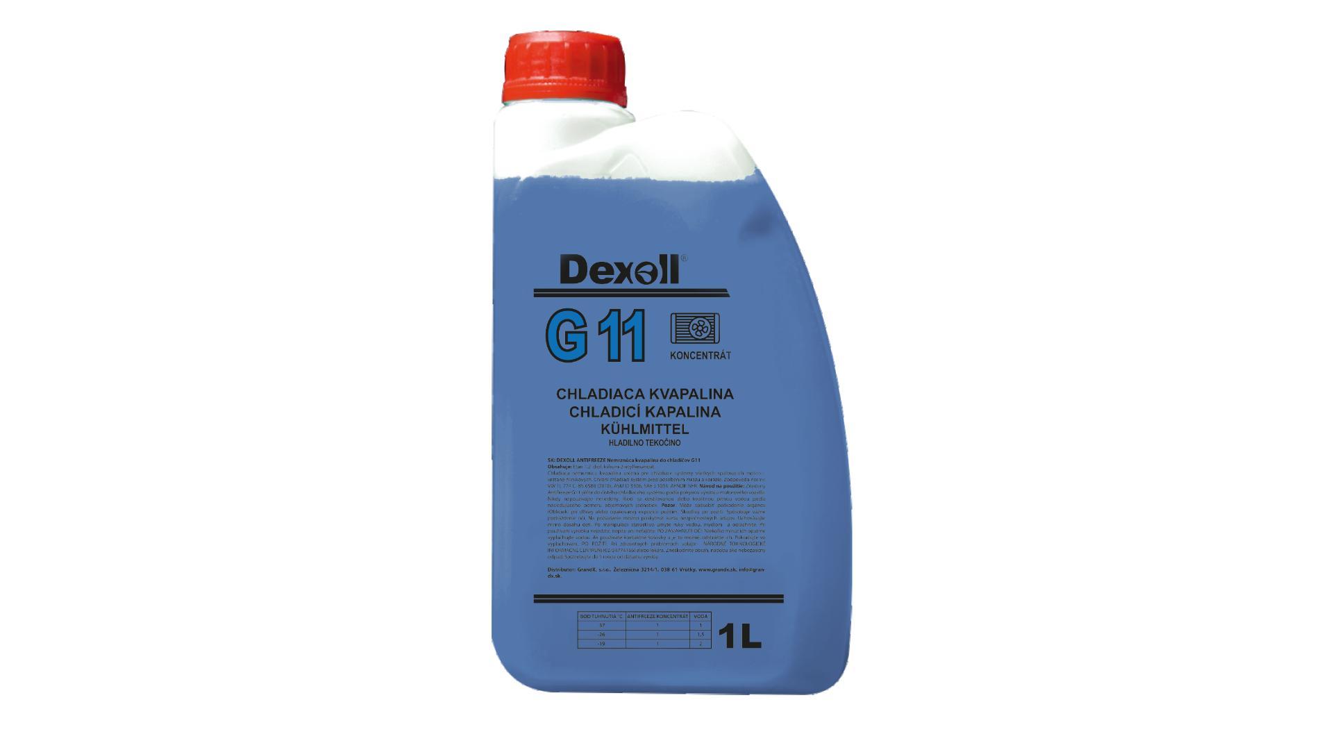 DEXOLL Nemrznúca zmes G11 - modrý 1L