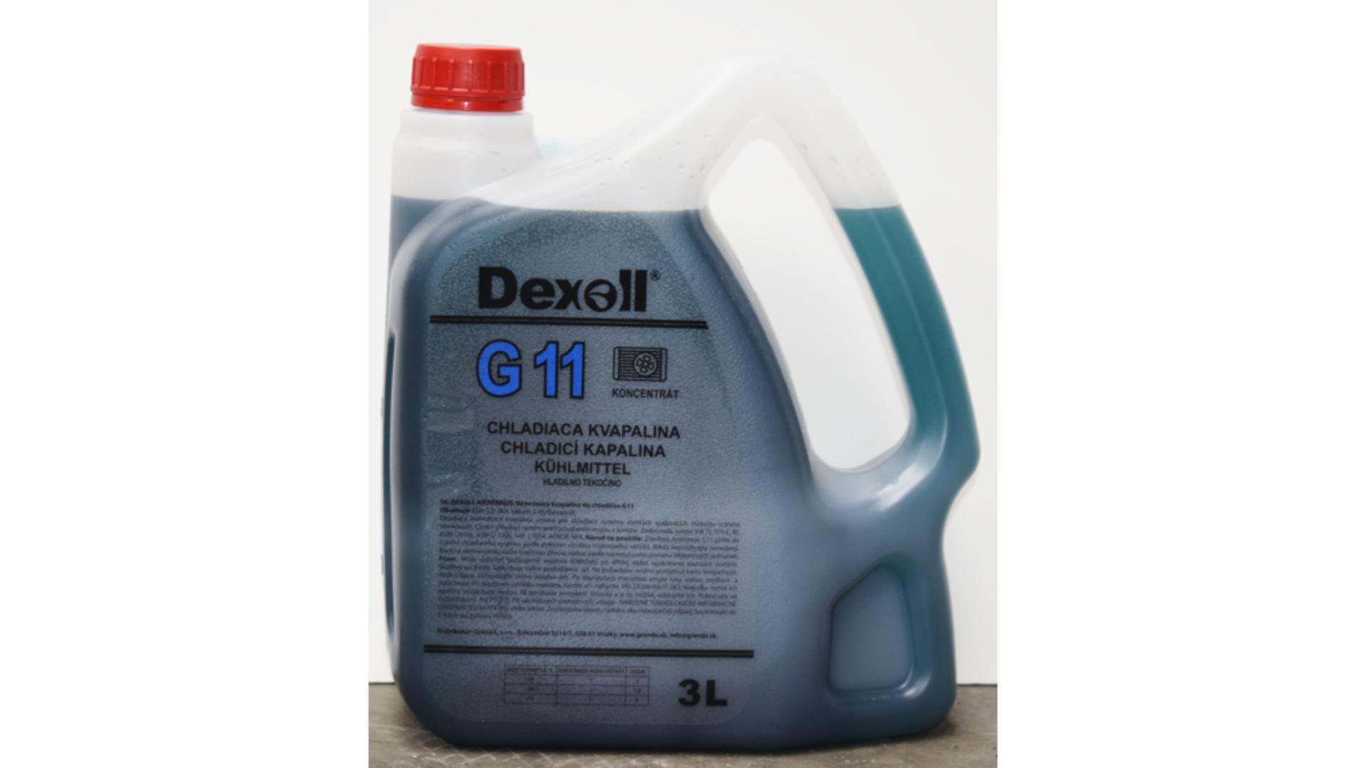 DEXOLL Nemrznúca zmes G11 - modrý 3L