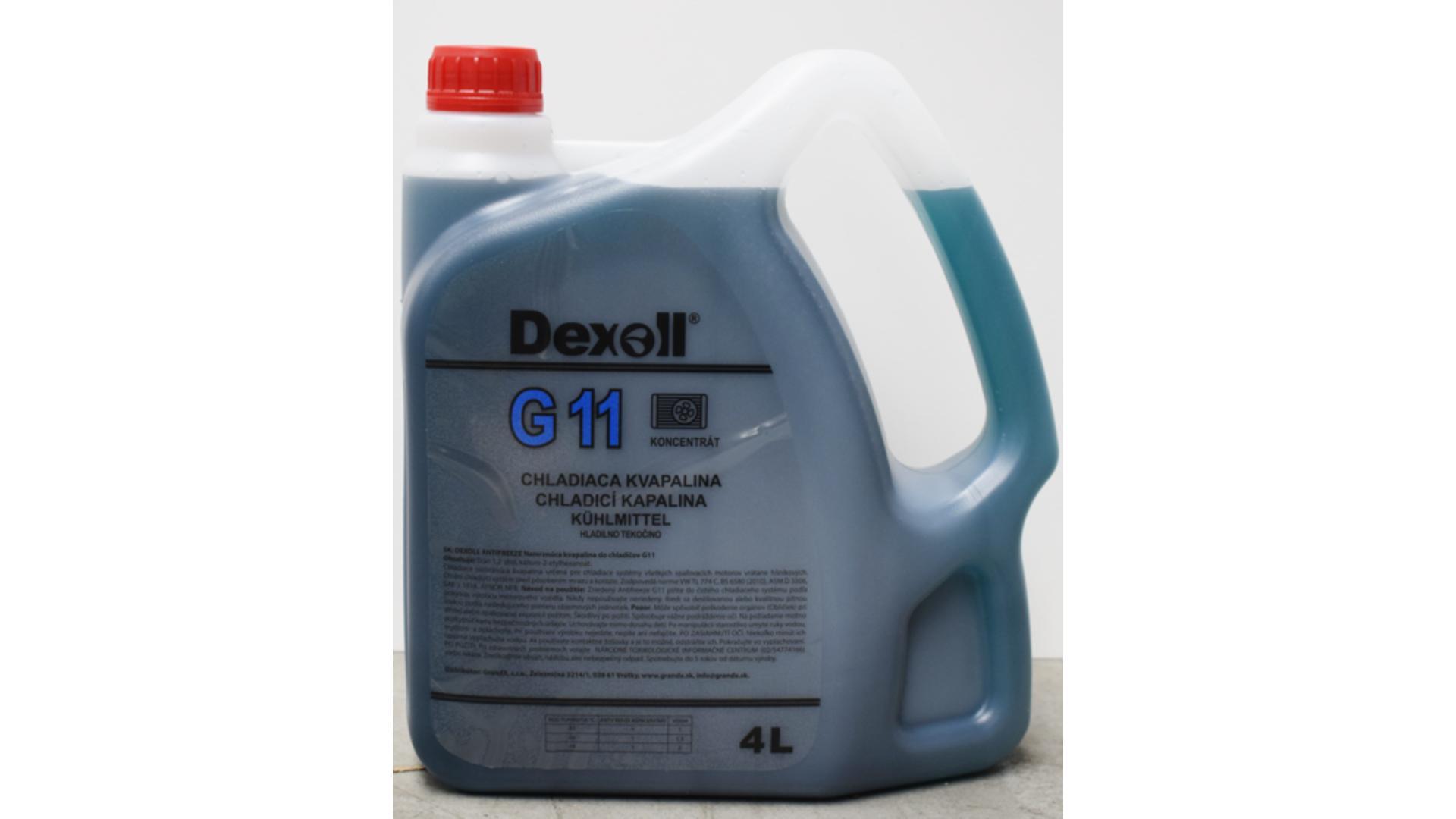 DEXOLL Nemrznúca zmes G11 - modrý 4L