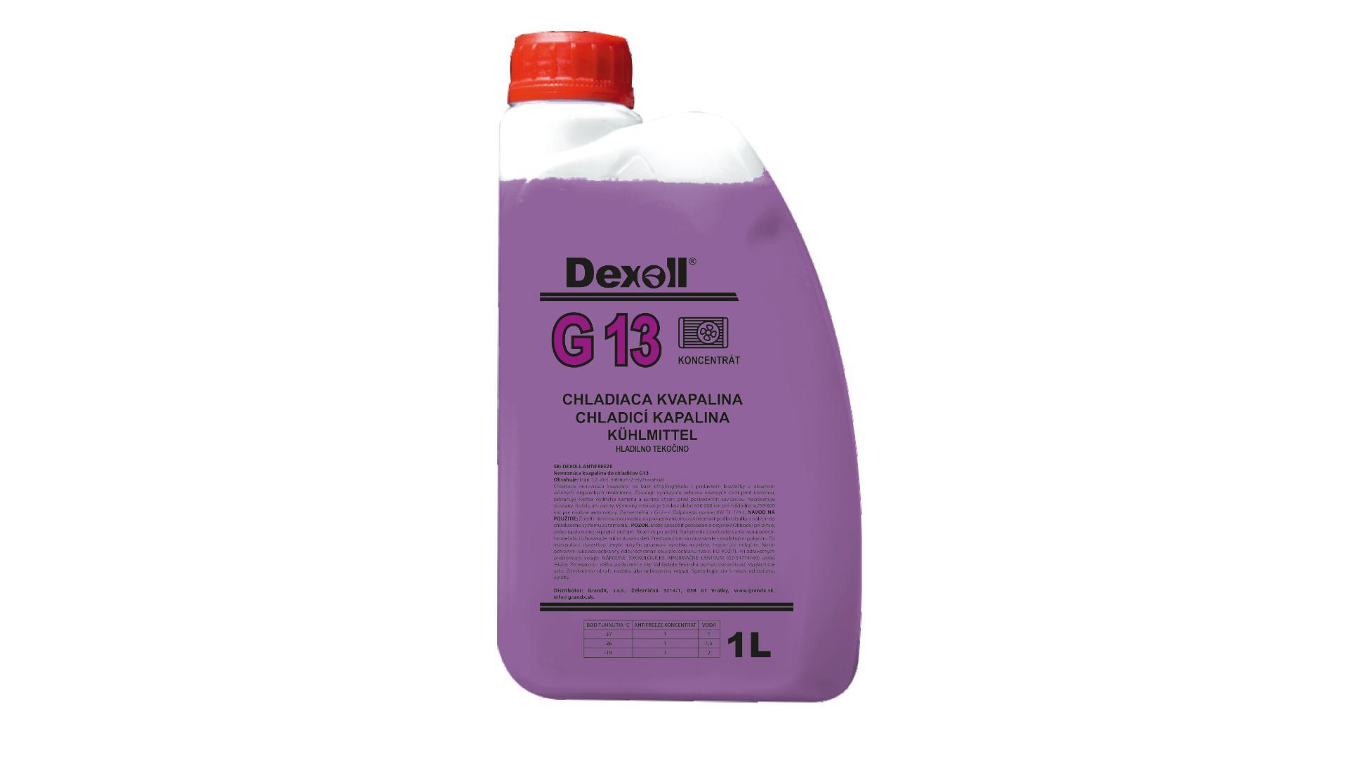 DEXOLL Nemrznúca zmes G13 1L