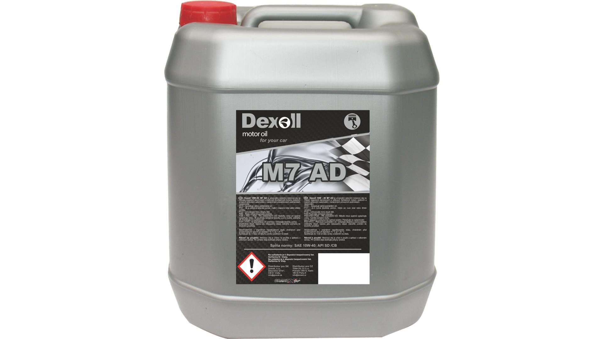DEXOLL 10W-40 M7 AD 10L