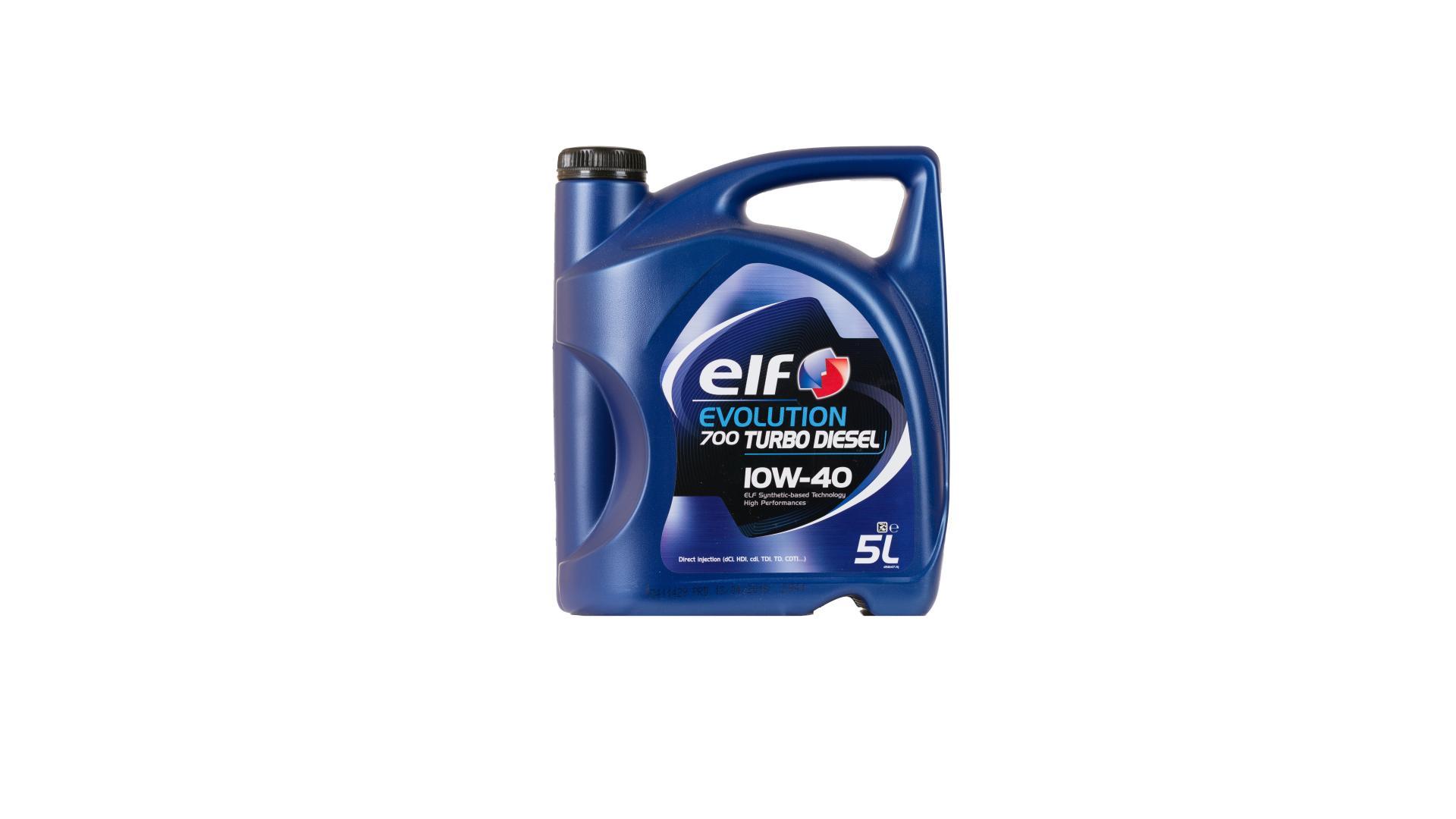 Elf 10w-40 Evolution 700 TD 5L (201553)