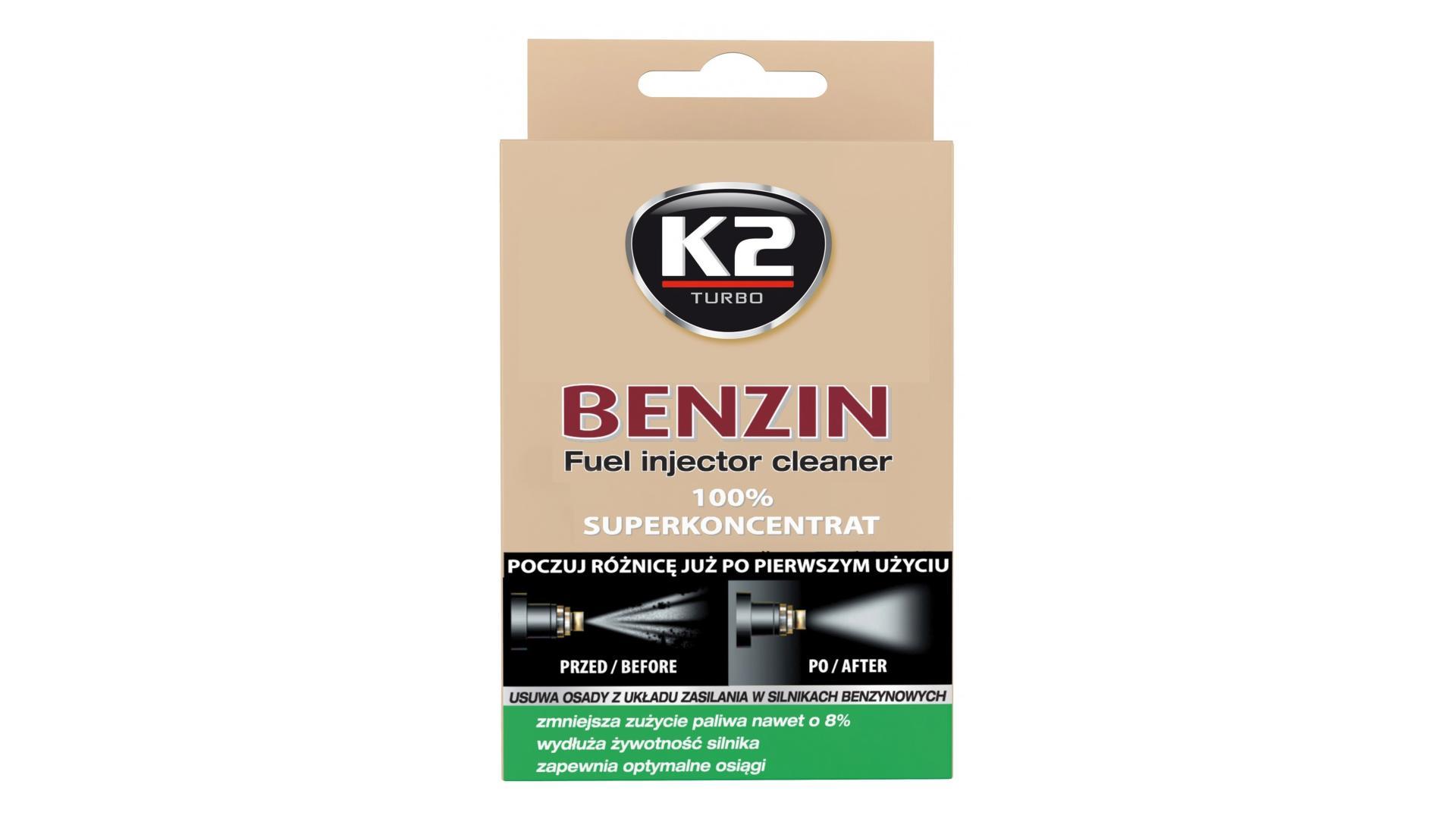 K2 Čistič vstrekov BENZIN 50ml