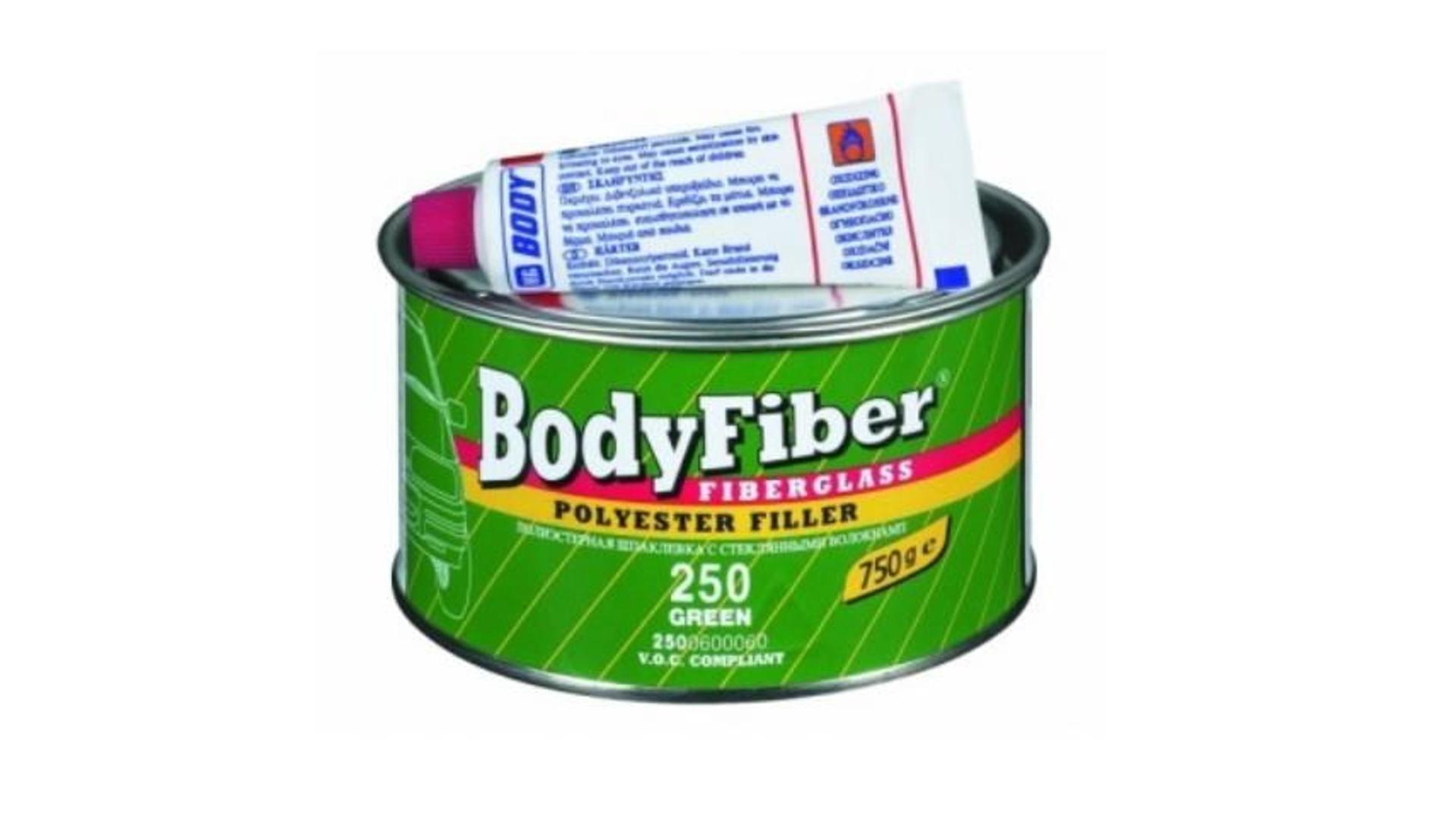 HB BODY tmel so sklenným vláknom - fiber F250 1,5KG