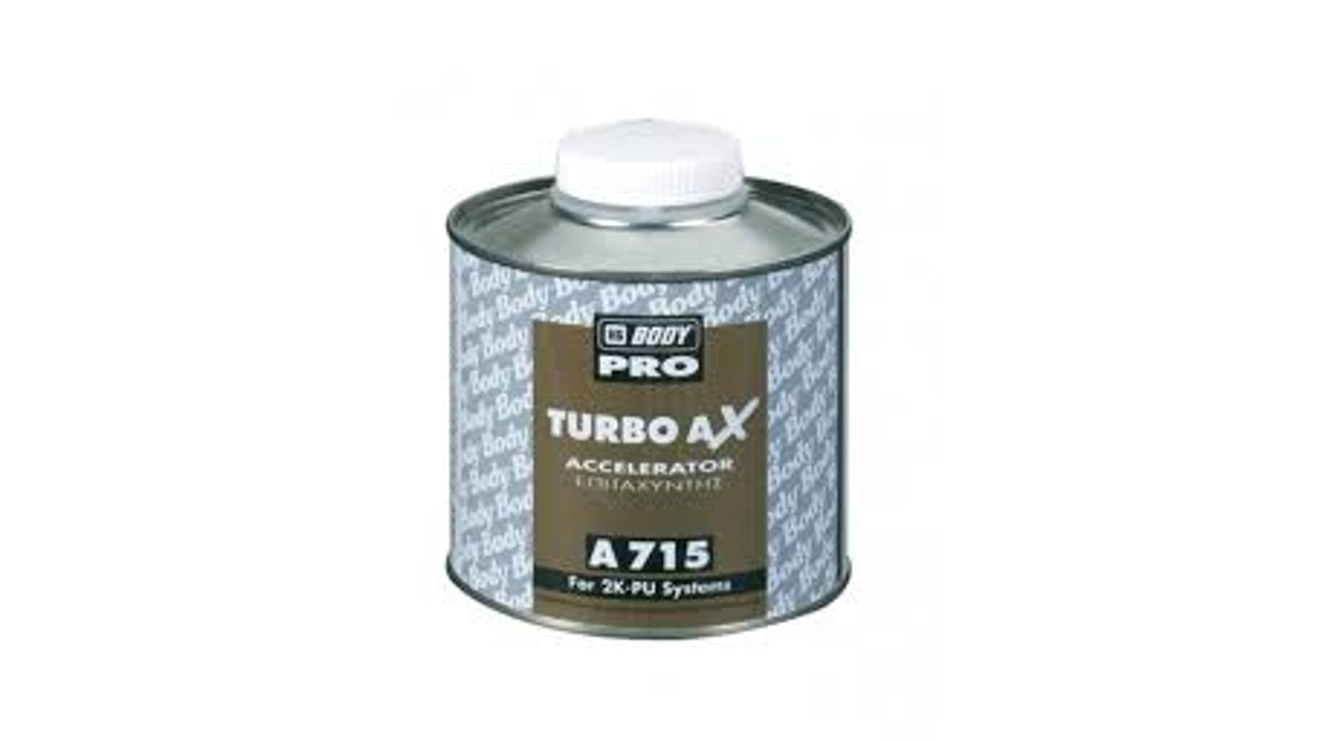 HB BODY turbo AX 715  - urýchlovač schnutia 0,5L