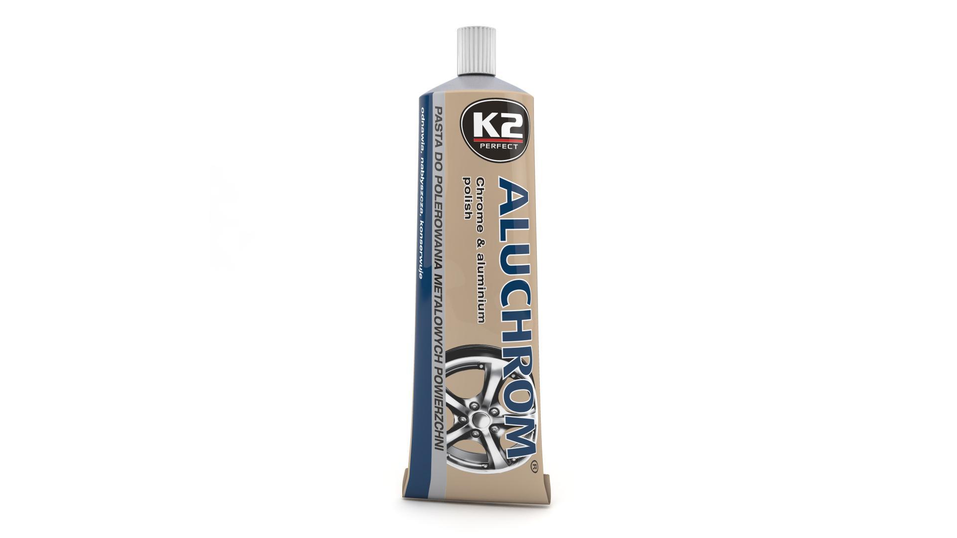 K2 Prípravok na leštenie, čistenie a konzervovanie kovových povrchov Aluchrom