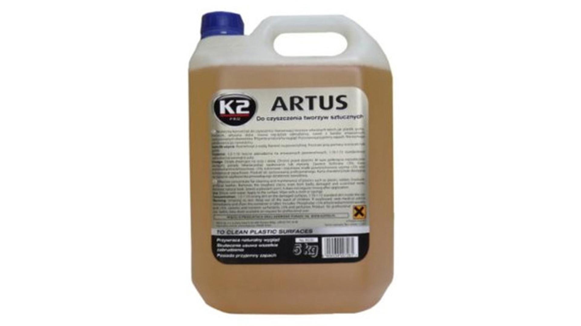 K2 ARTUS 5 kg - čistič plastov