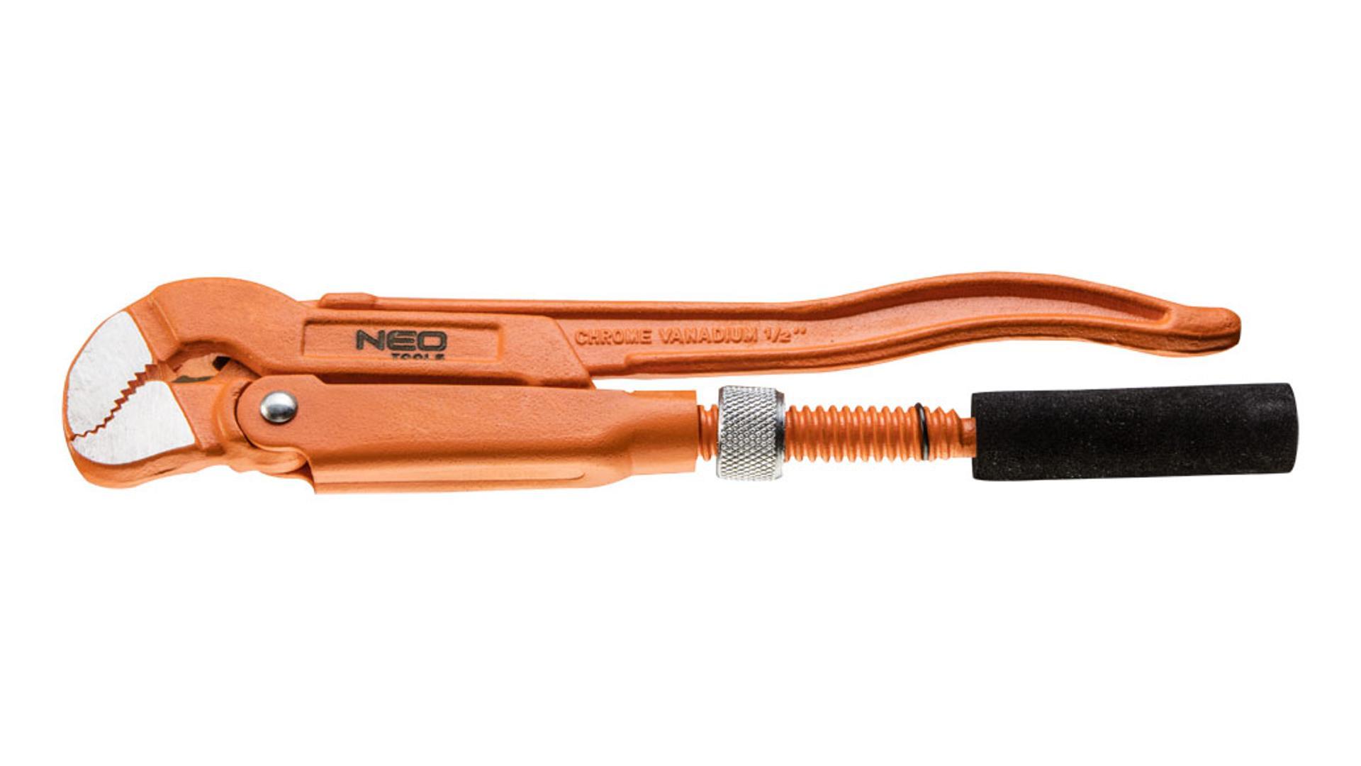 """NEO Kľúč na rúry typ """"S"""" 1.5"""", 425 mm"""